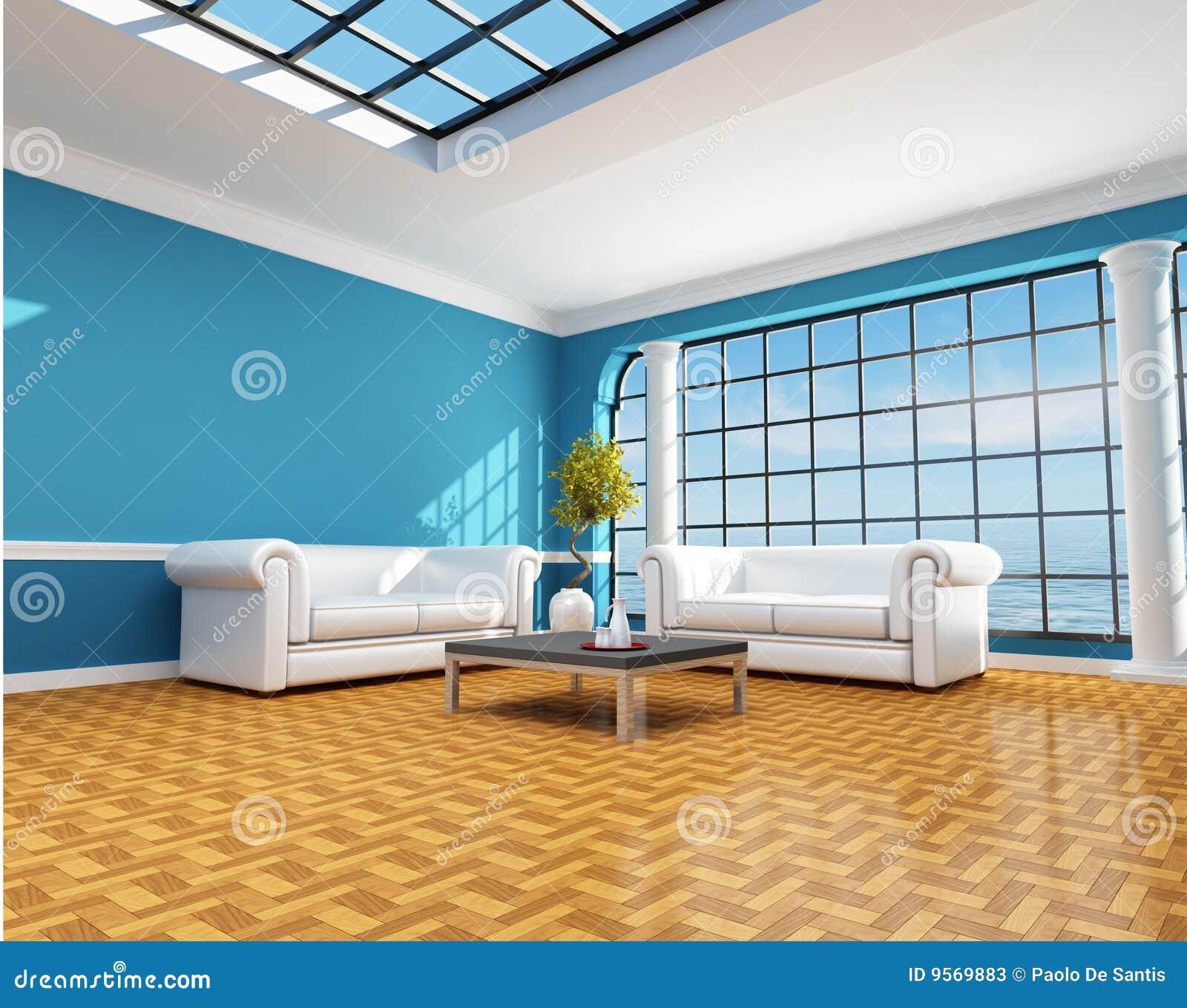 Maison de plage bleue classique photos stock image 9569883 - Chanson une maison bleue ...
