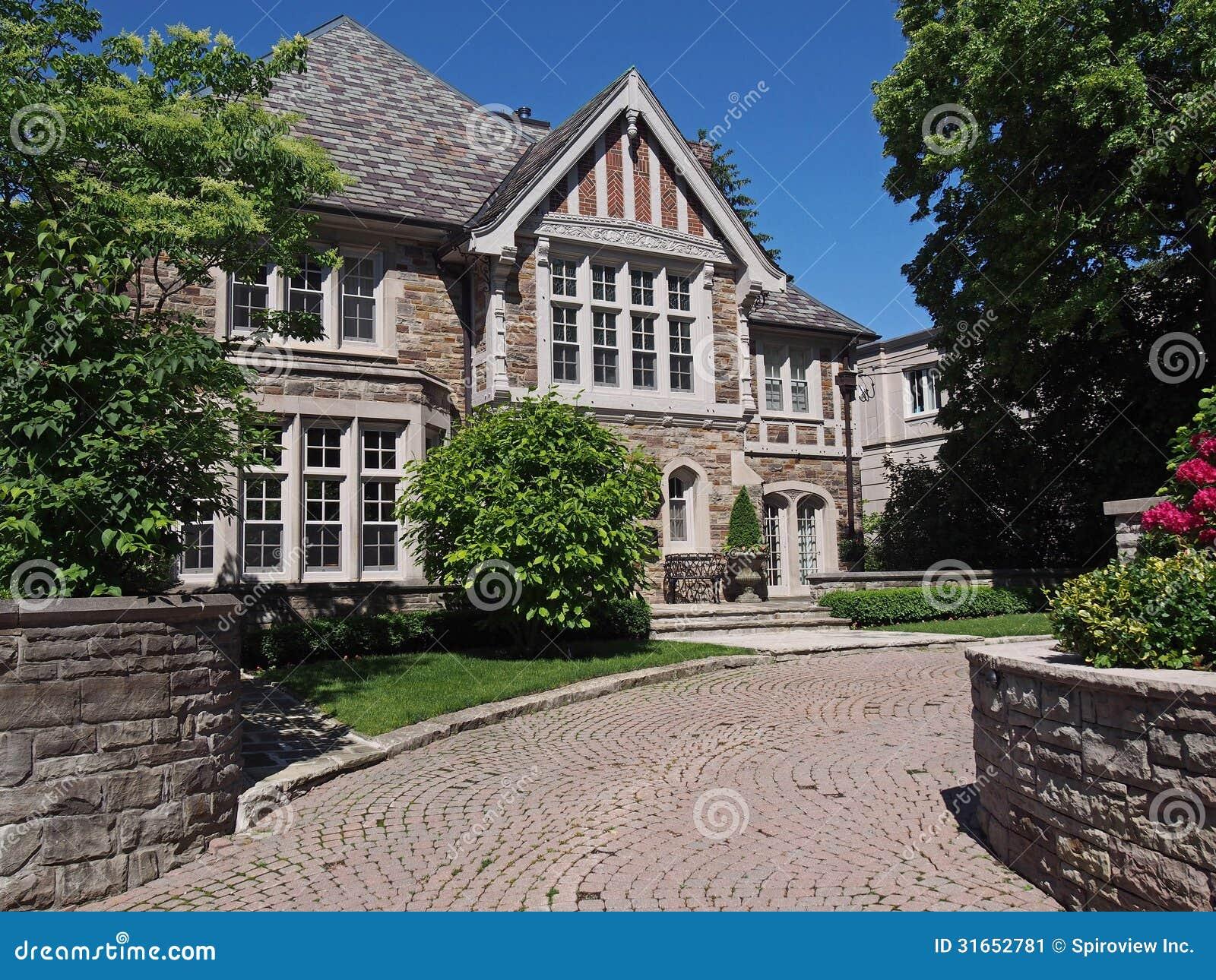 Maison de style de Tudor