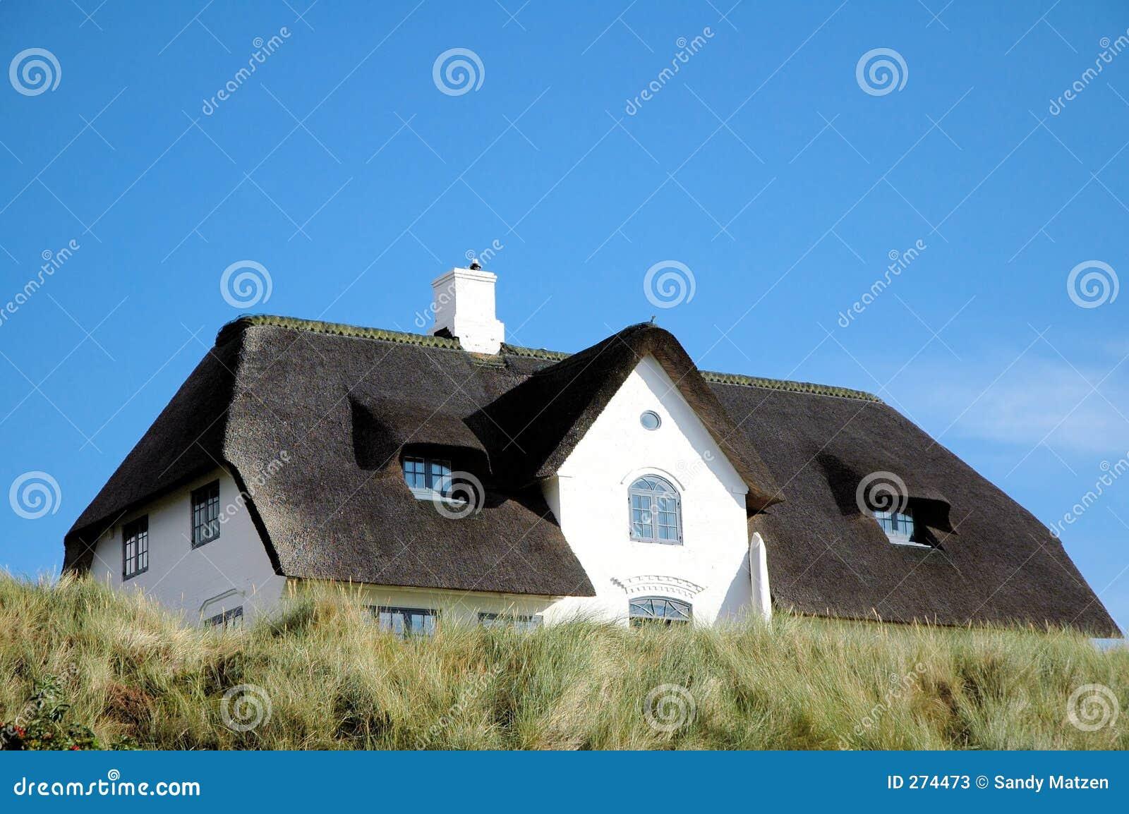 Maison de toit couvert de chaume 2