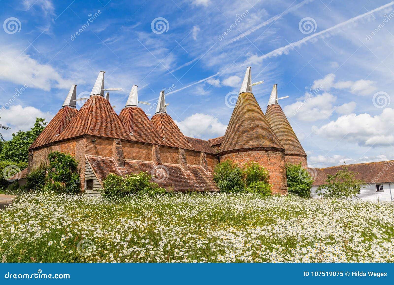 Maison de touraille dans le Sussex, R-U
