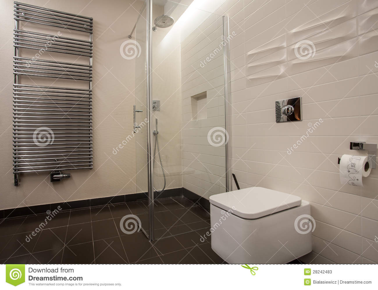 Salle de bain travertin moderne – lombards