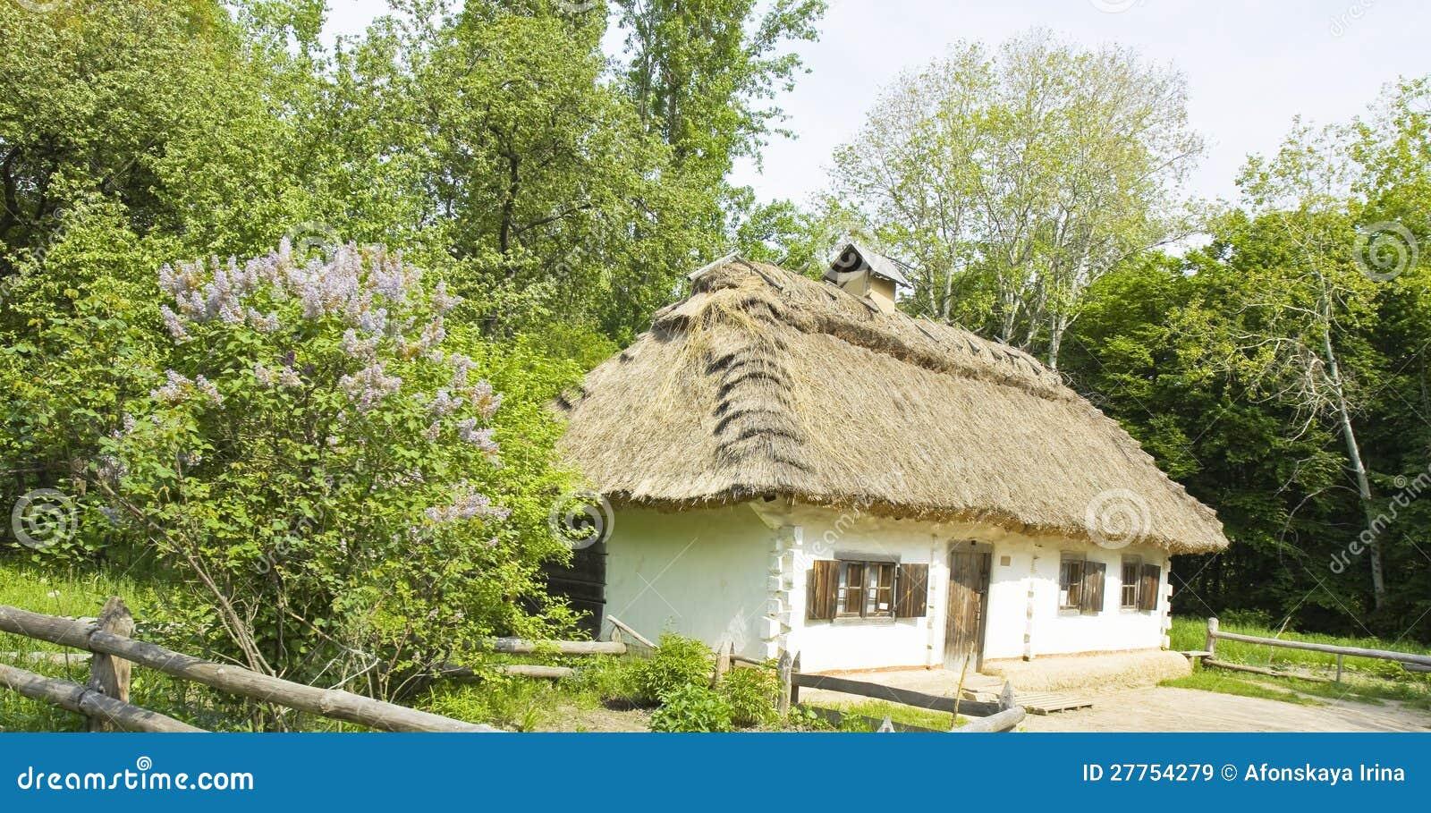Maison de village, Ukraine