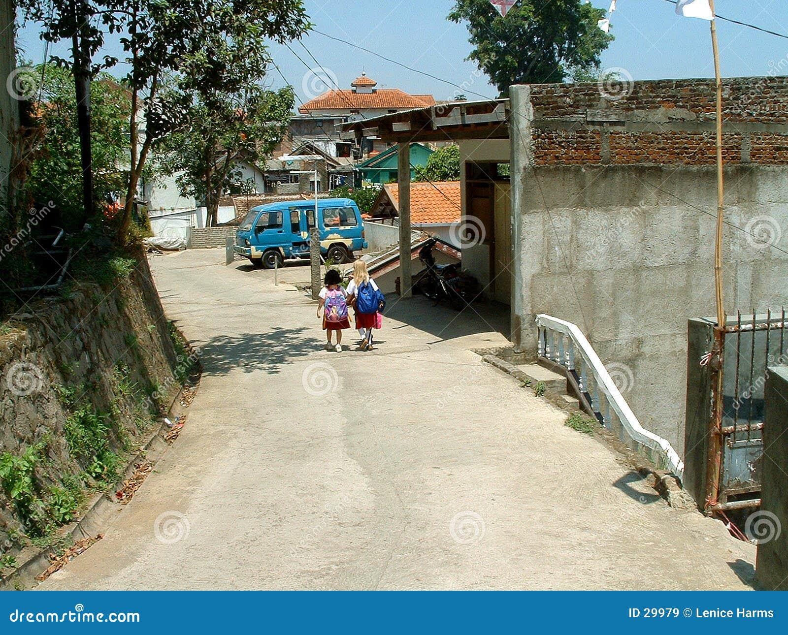 Maison de voie d école