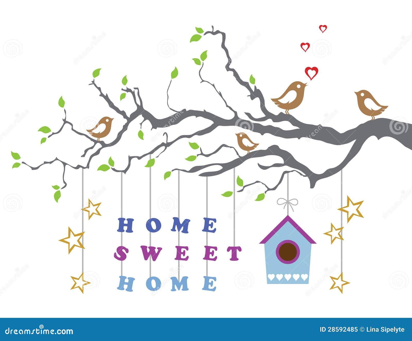 Maison douce la maison d m nager dans la carte de voeux for Www conception de la nouvelle maison