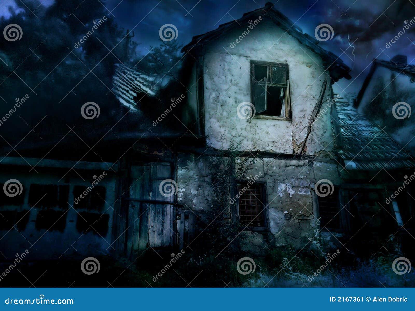 Maison effrayante