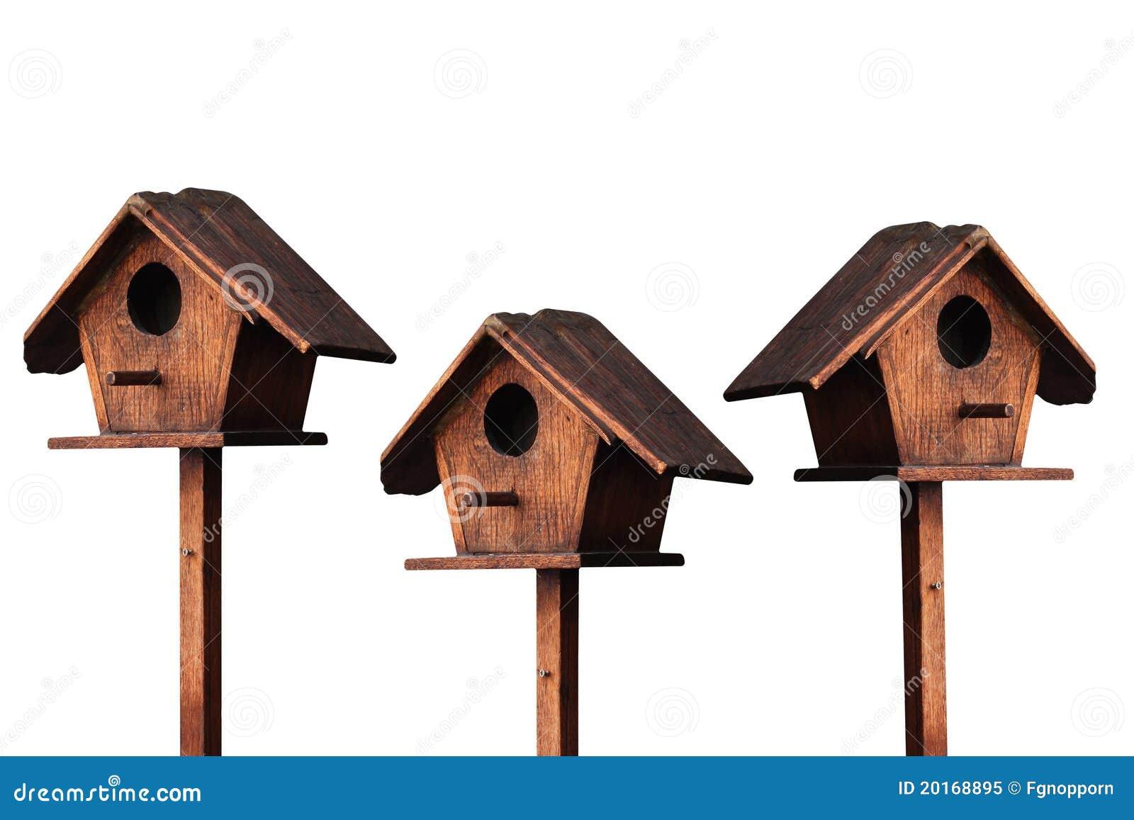 Maison en bois d oiseau