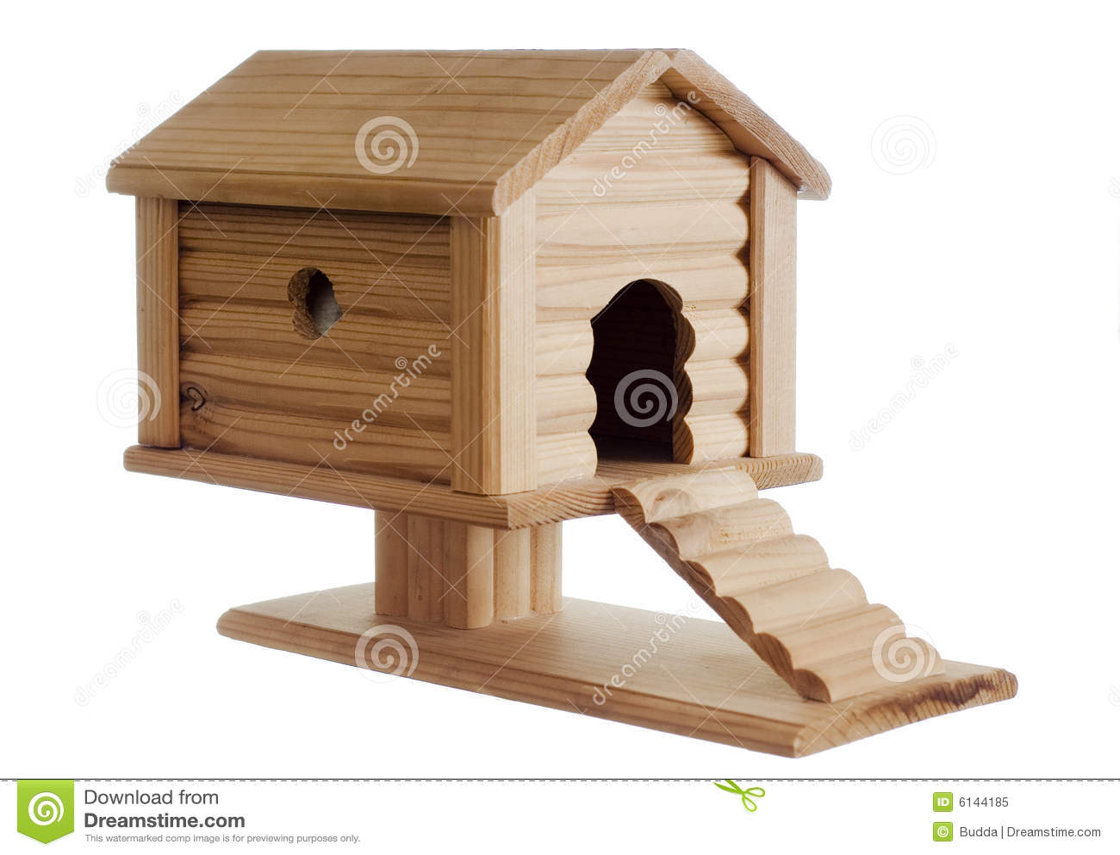 Maison En Bois Maison De Jouet Image Stock Image Du Miniature