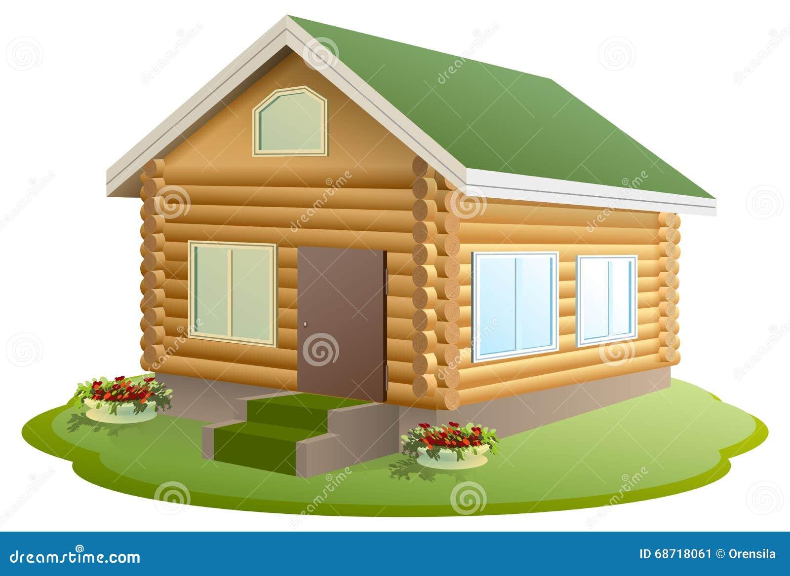 Nouvelle maison banque salon intrieur avec parquet et for Cabane en bois moderne