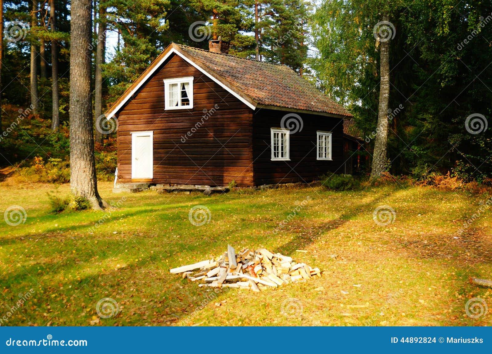 Maison En Bois Telemark, Norvège Photo stock  Image 44892824