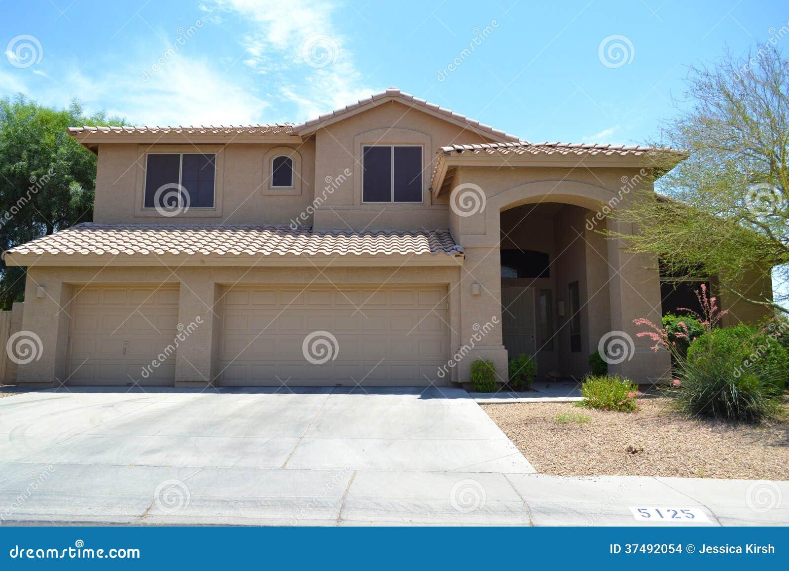 maison espagnole du sud ouest toute neuve de r 234 ve de l arizona de style