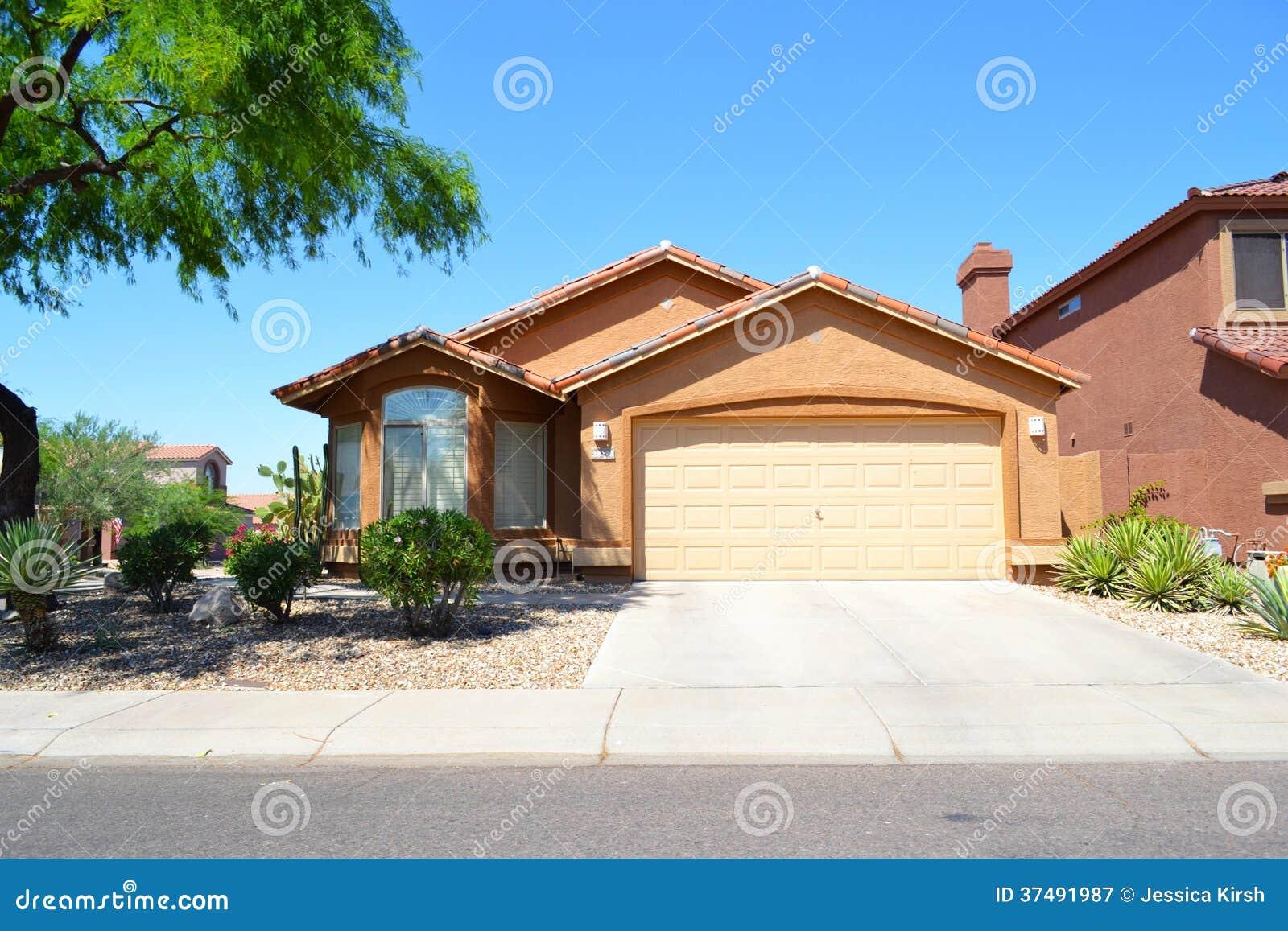 Maison Espagnole/du Sud-ouest Toute Neuve De Rêve De L'Arizona De ...