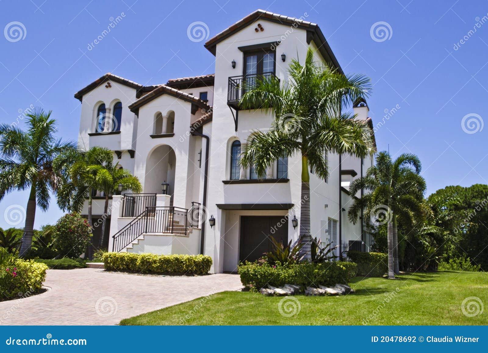 Maison espagnole luxueuse de type photo stock image du m tropolitain fa ade 20478692 - Maison modulaire espagnole ...