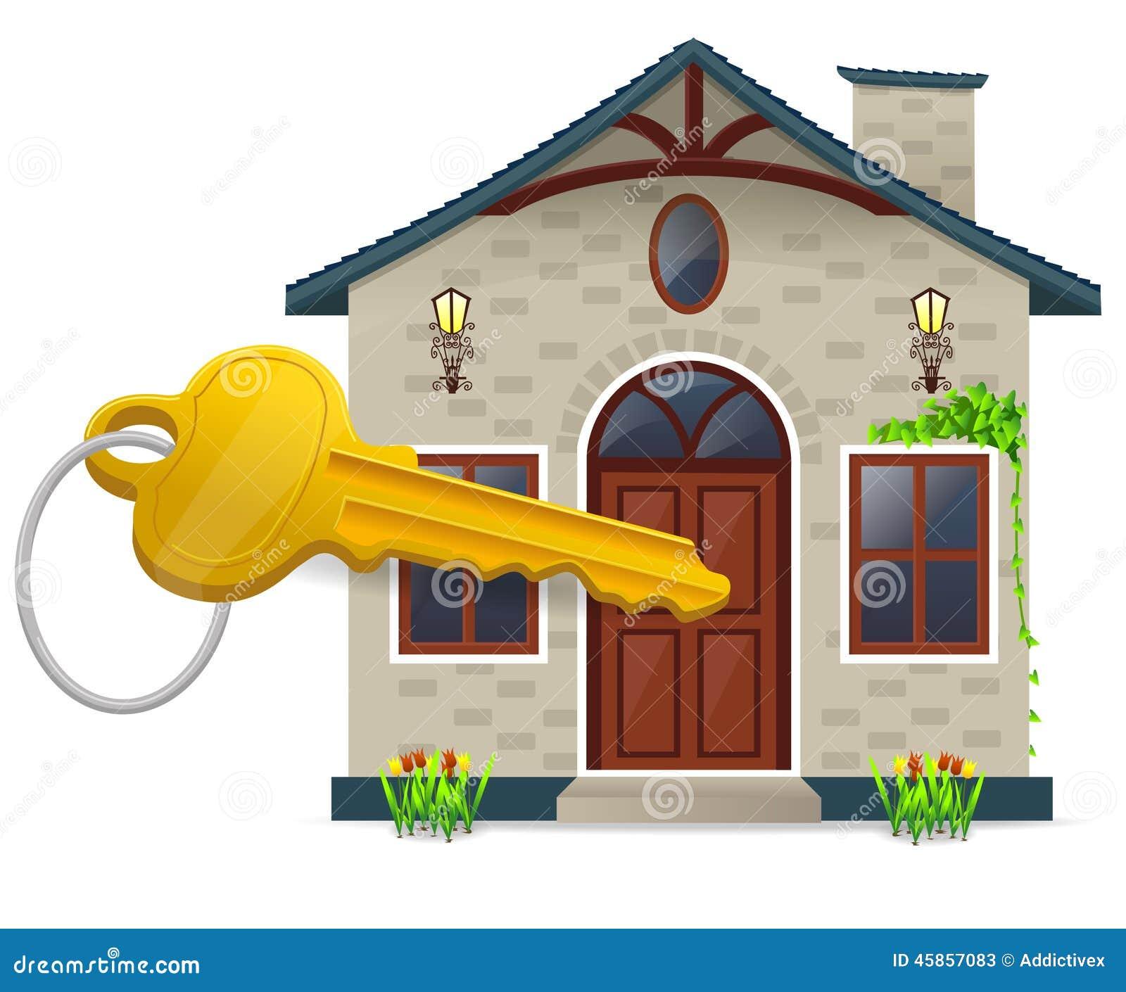 Maison et clé