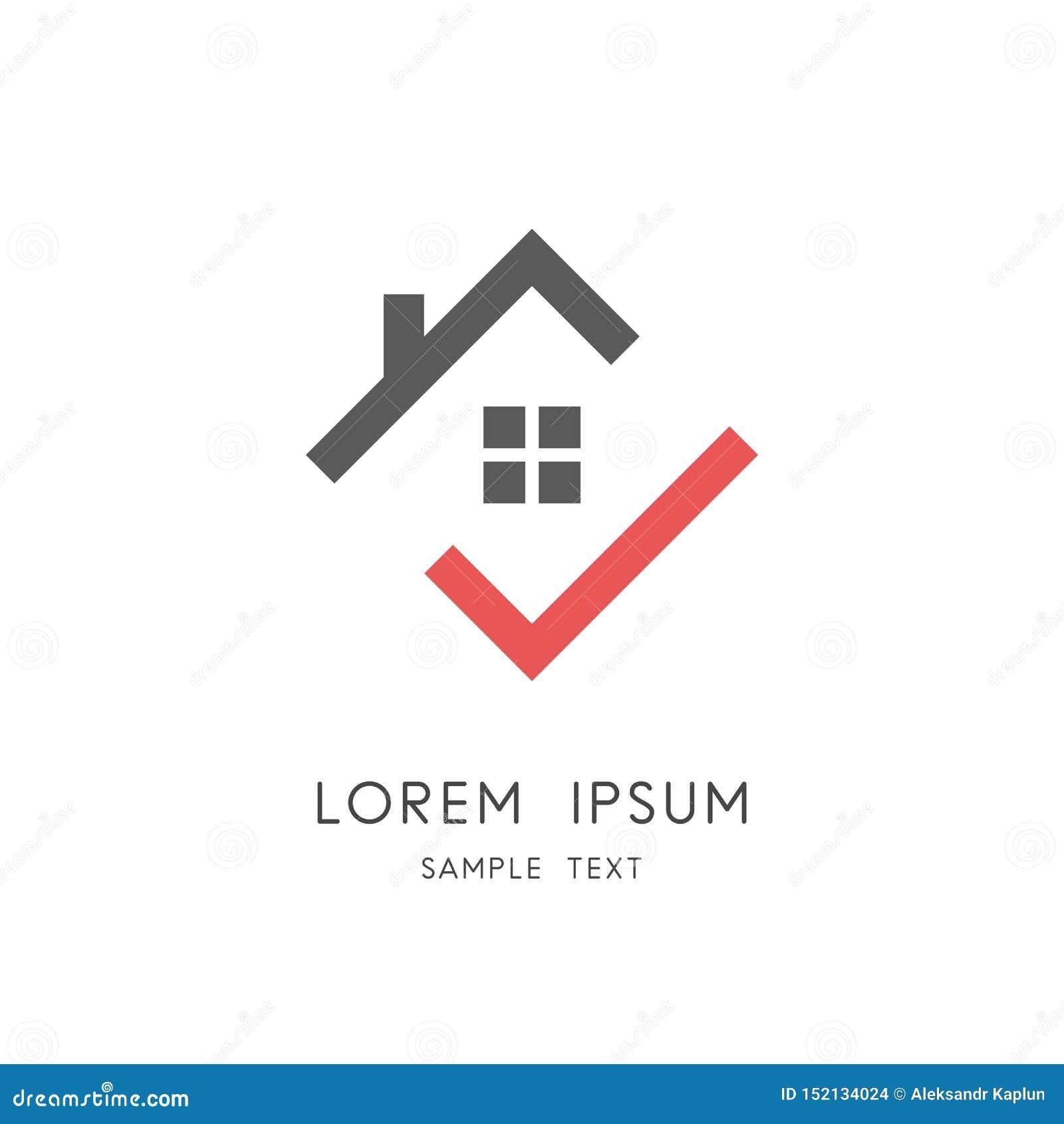 Maison et coche - toit de maison avec la cheminée et la fenêtre