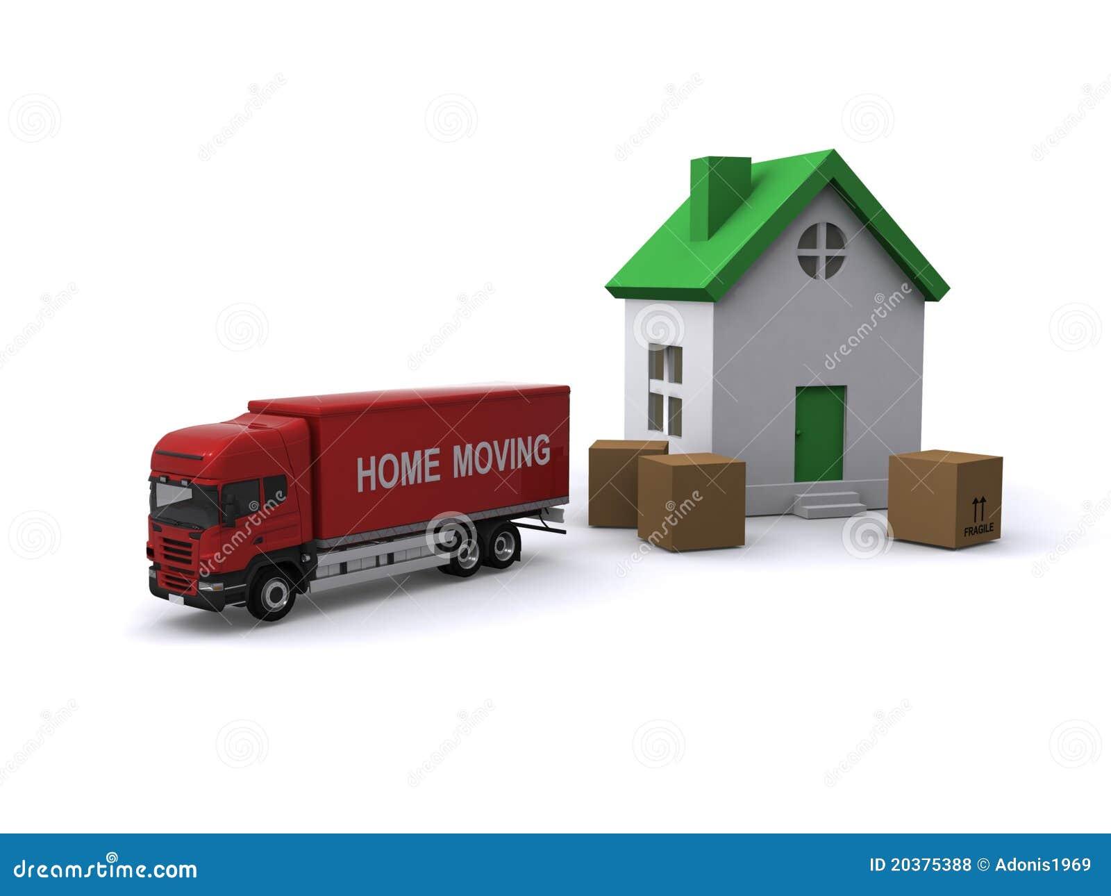 maison mobile photos libres de droits image 20375388. Black Bedroom Furniture Sets. Home Design Ideas