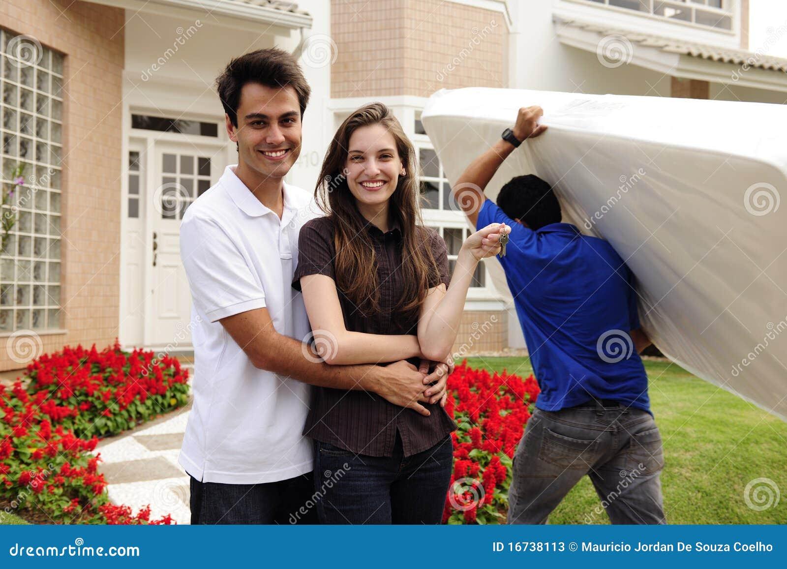 Maison mobile : Infront de couples de nouvelle maison