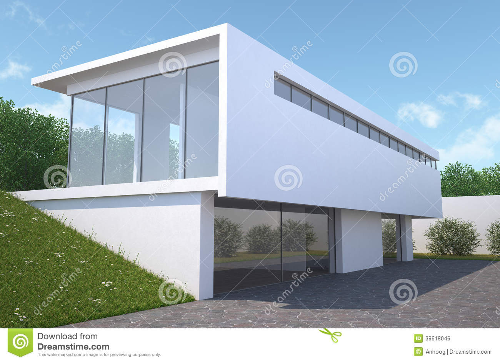 Maison moderne exterieure for Le jardin moderne