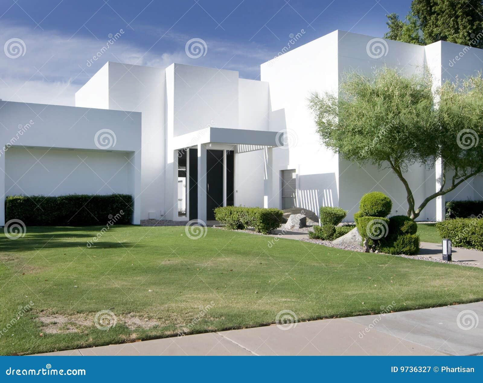 maison moderne blanche - Maison Moderne Blanche