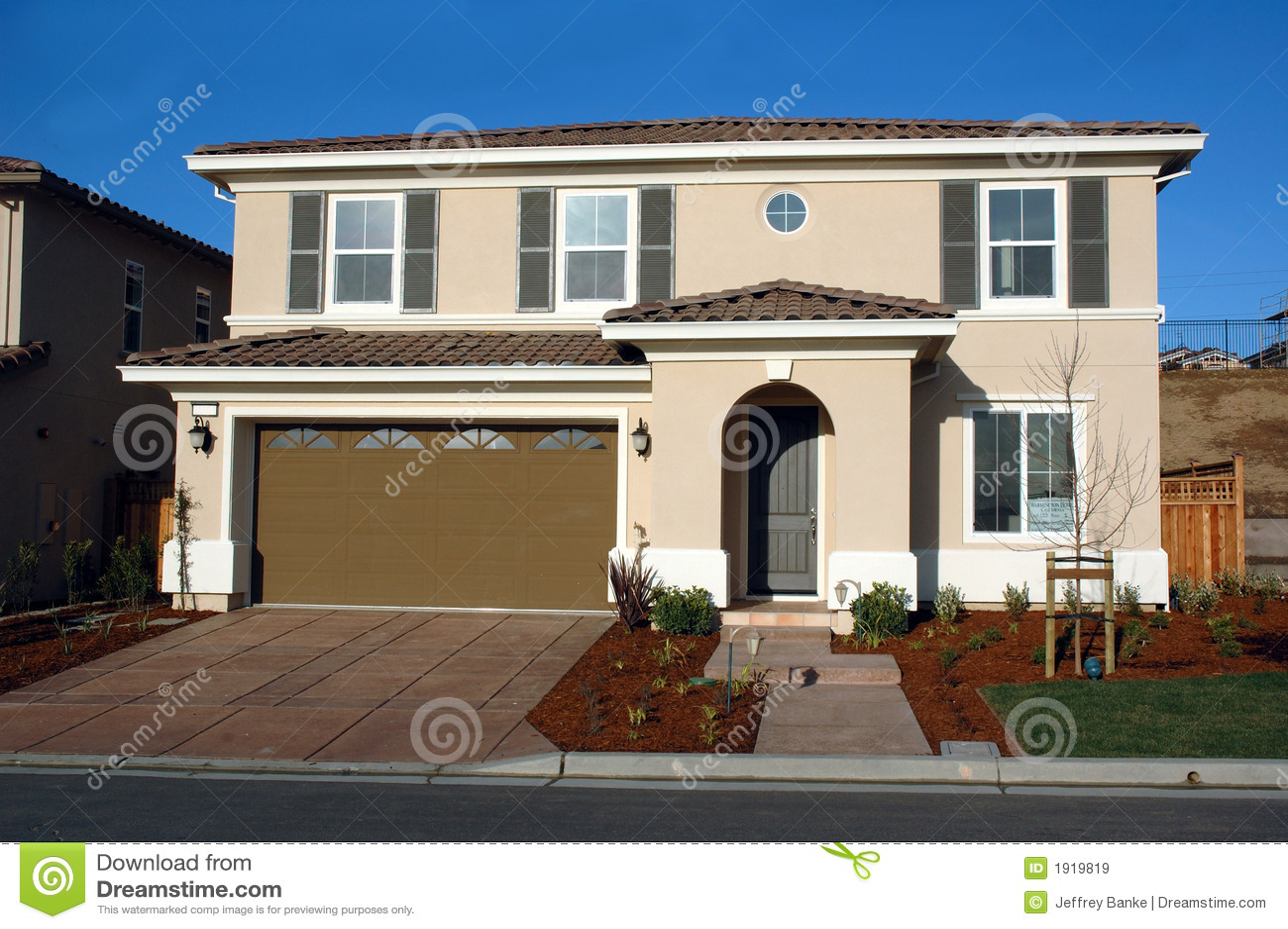 Maison Moderne Dans Une Nouveauté En Californie Nordique