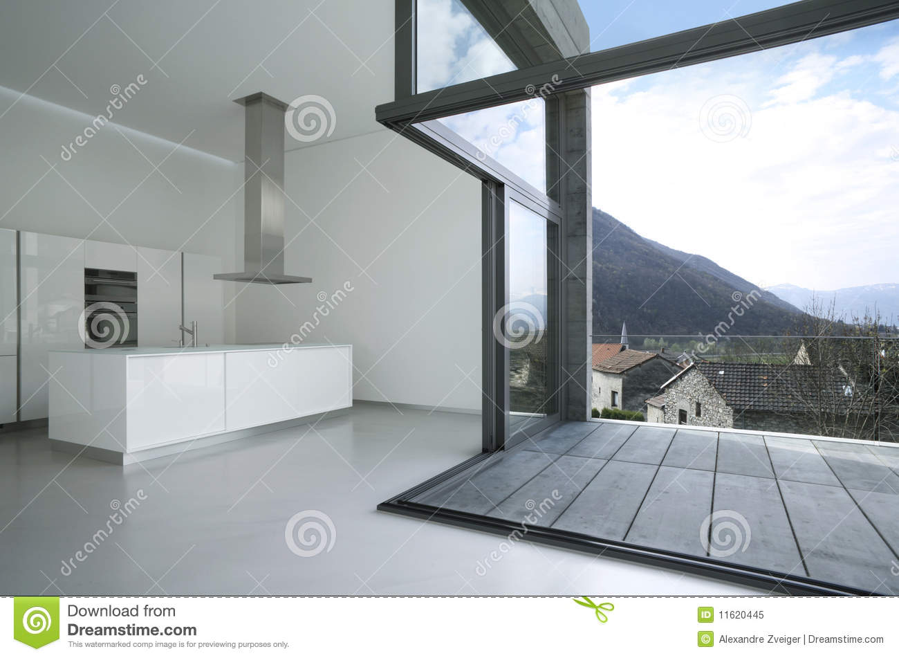 Maison moderne vide photo libre de droits image 11620445 for Assurer une maison vide