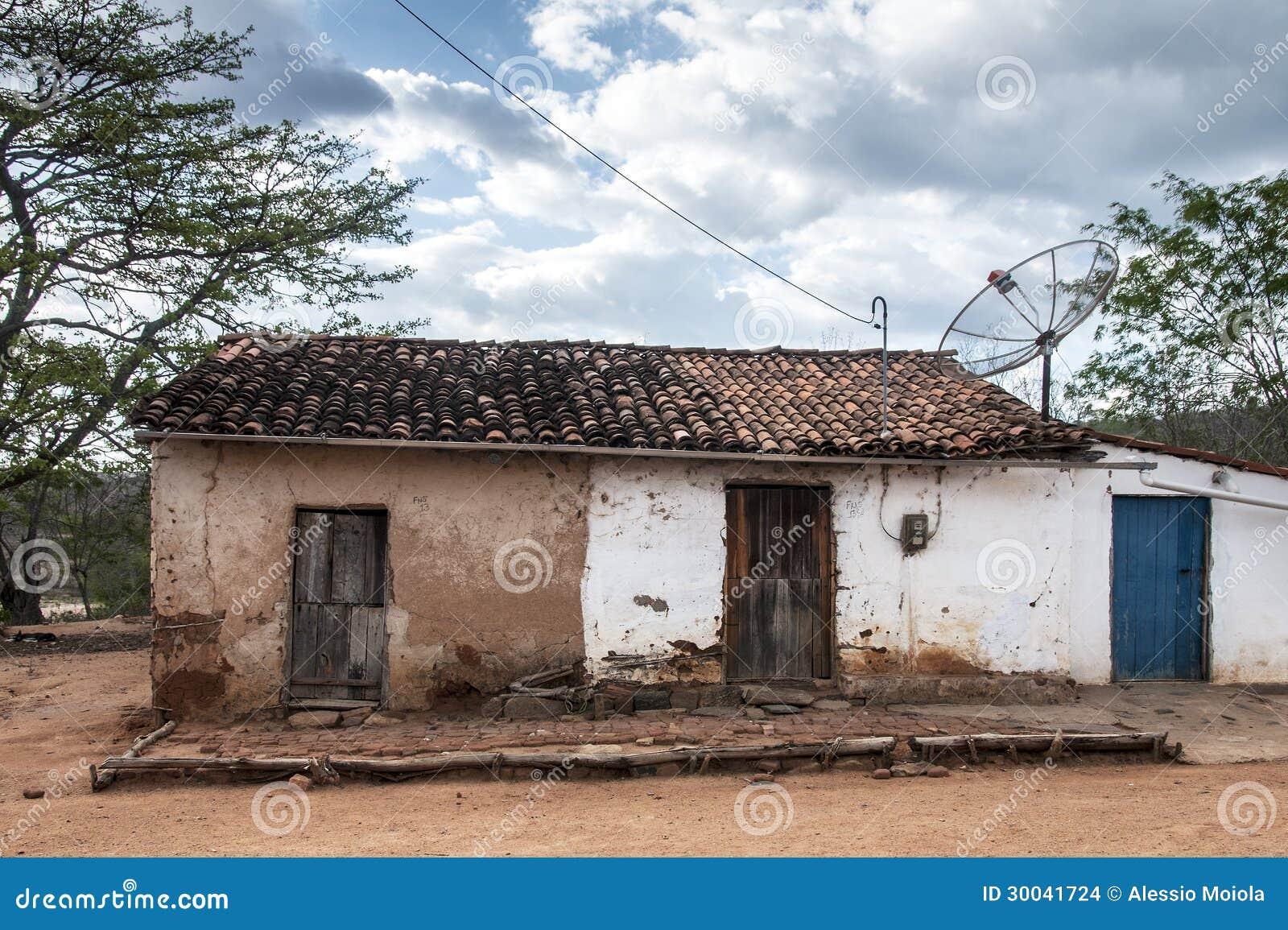 Maison de boue au br sil images stock image 30041724 for B b maison du nord