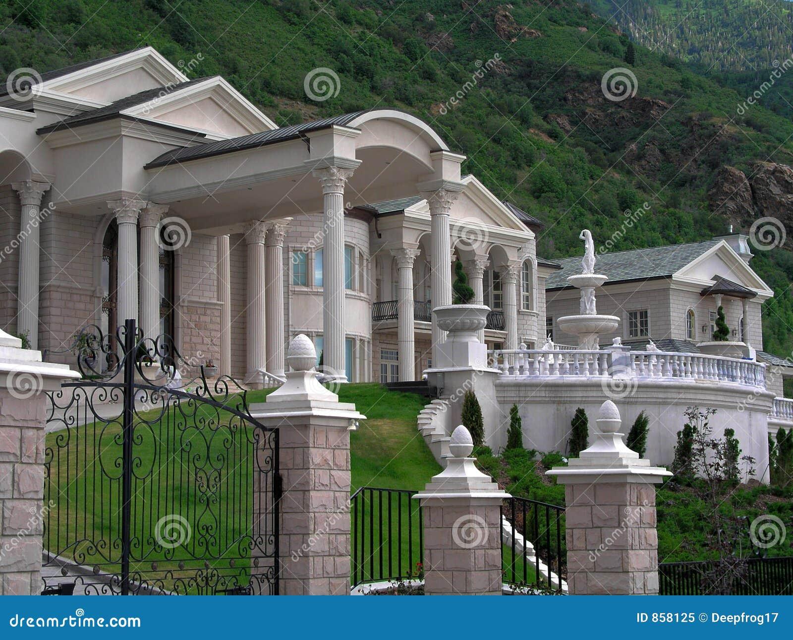maison riche image stock image du palais d go tant r el 858125. Black Bedroom Furniture Sets. Home Design Ideas