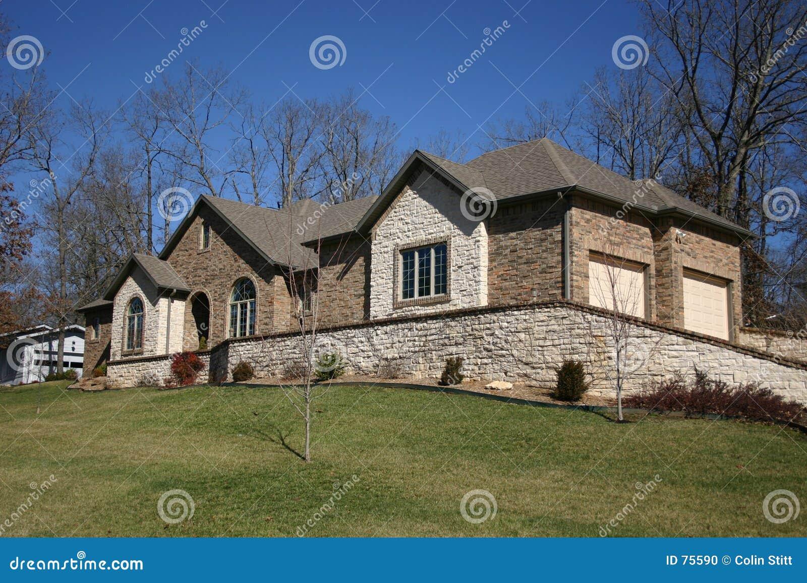 Maison rocheuse