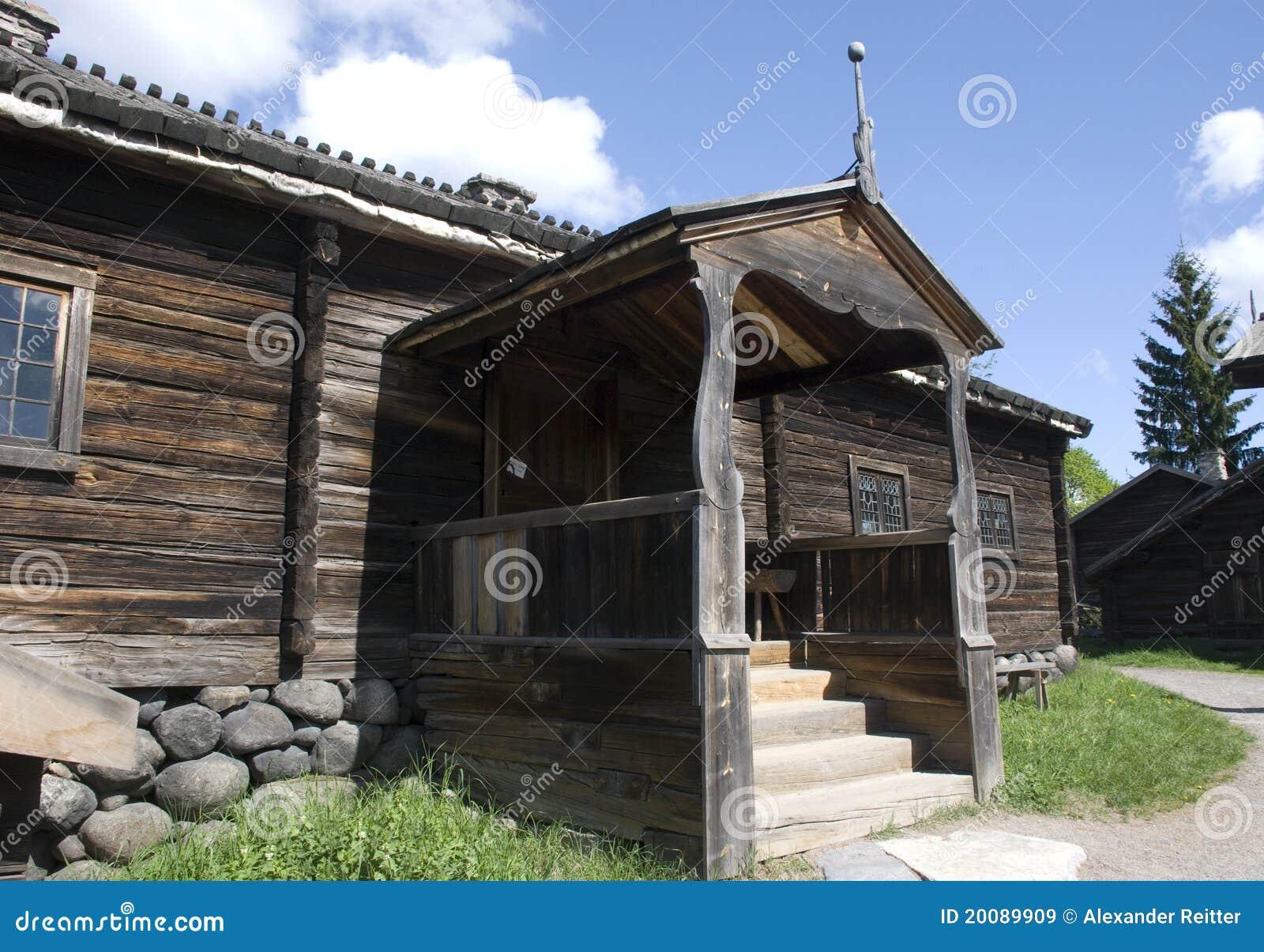 Maison scandinave images libres de droits image 20089909 - Maison bois scandinave ...