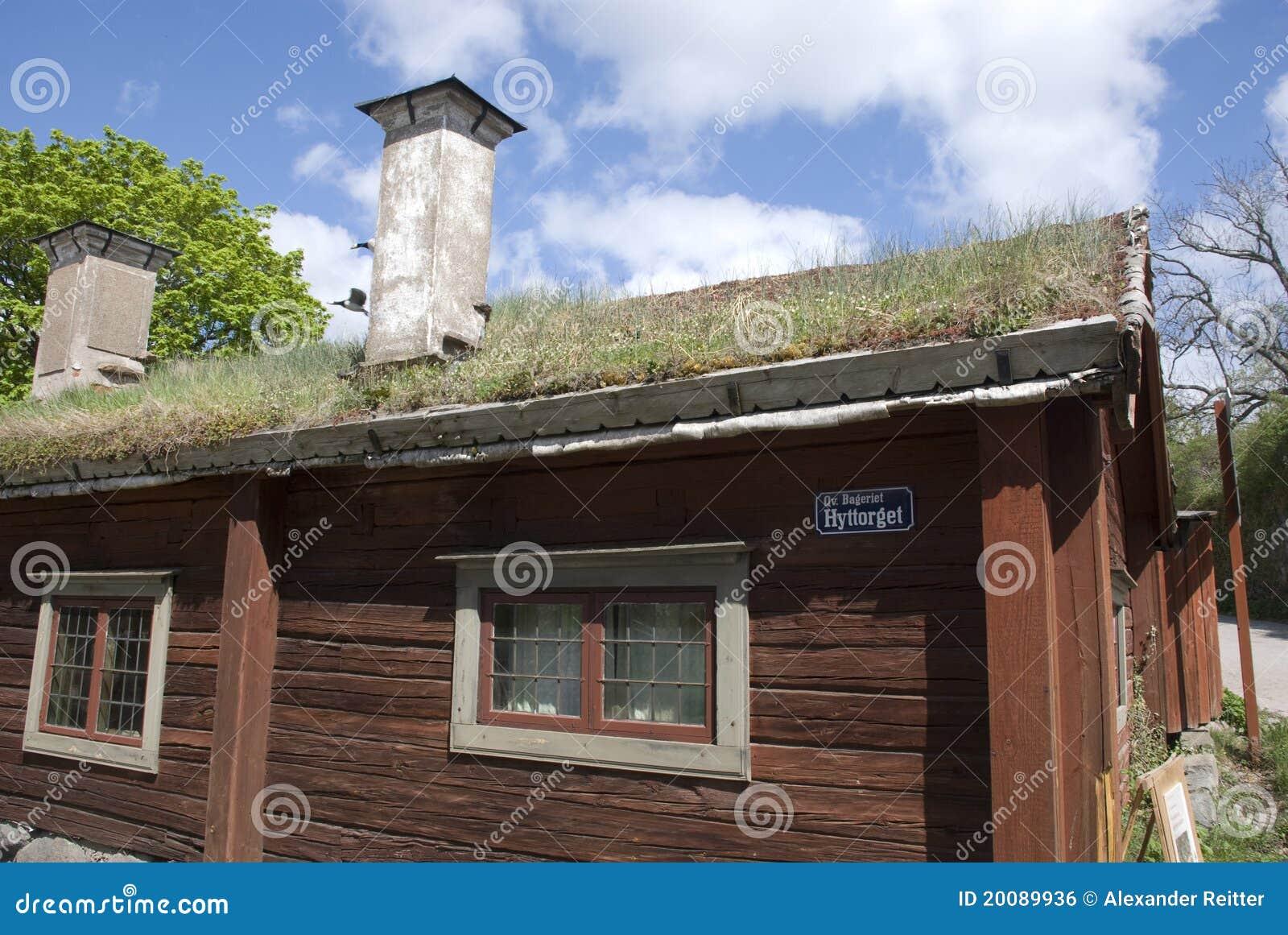 Maison scandinave image libre de droits image 20089936 - Maison bois scandinave ...