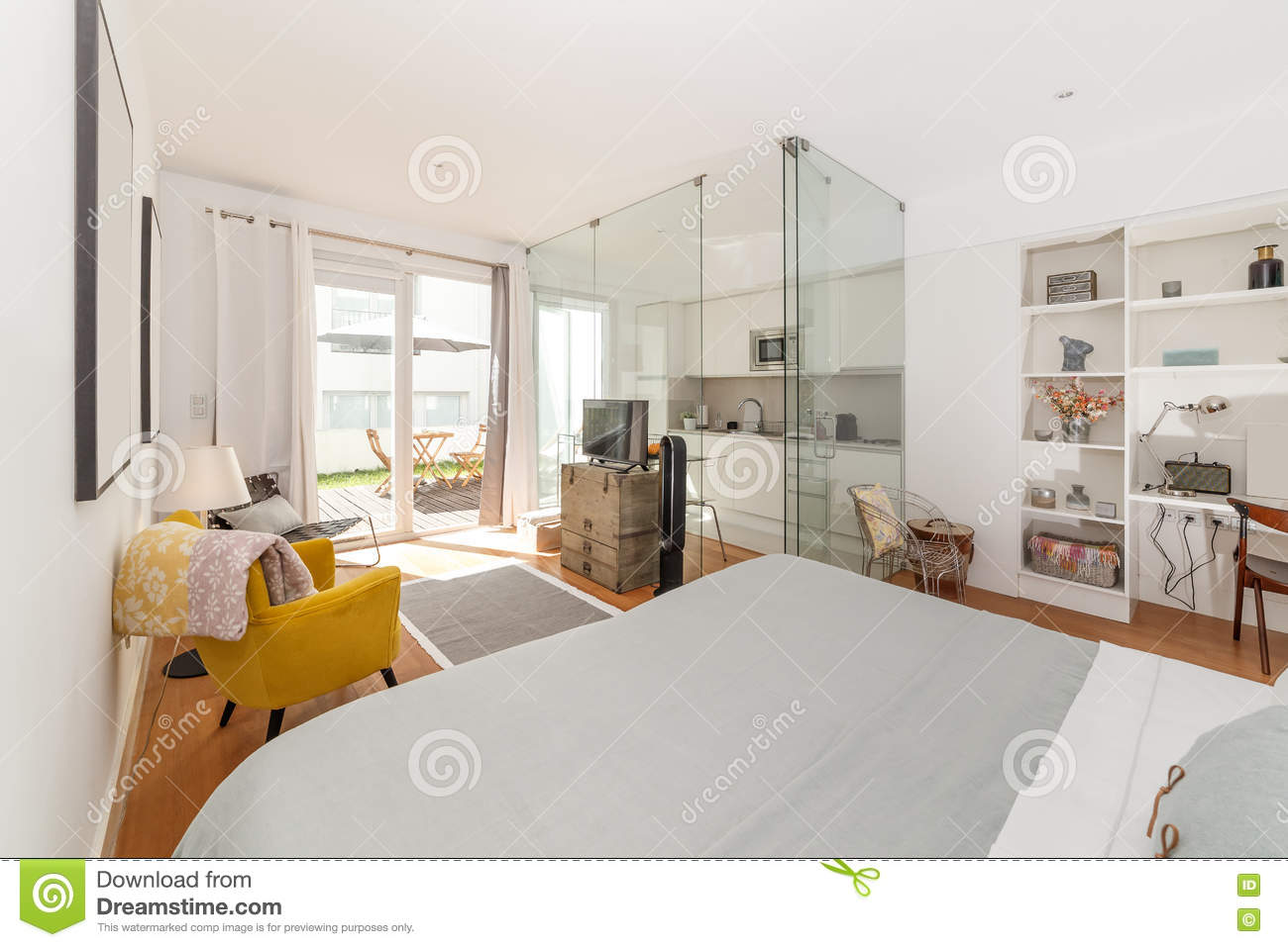 Chambre simple moderne for Chambre a coucher simple et moderne