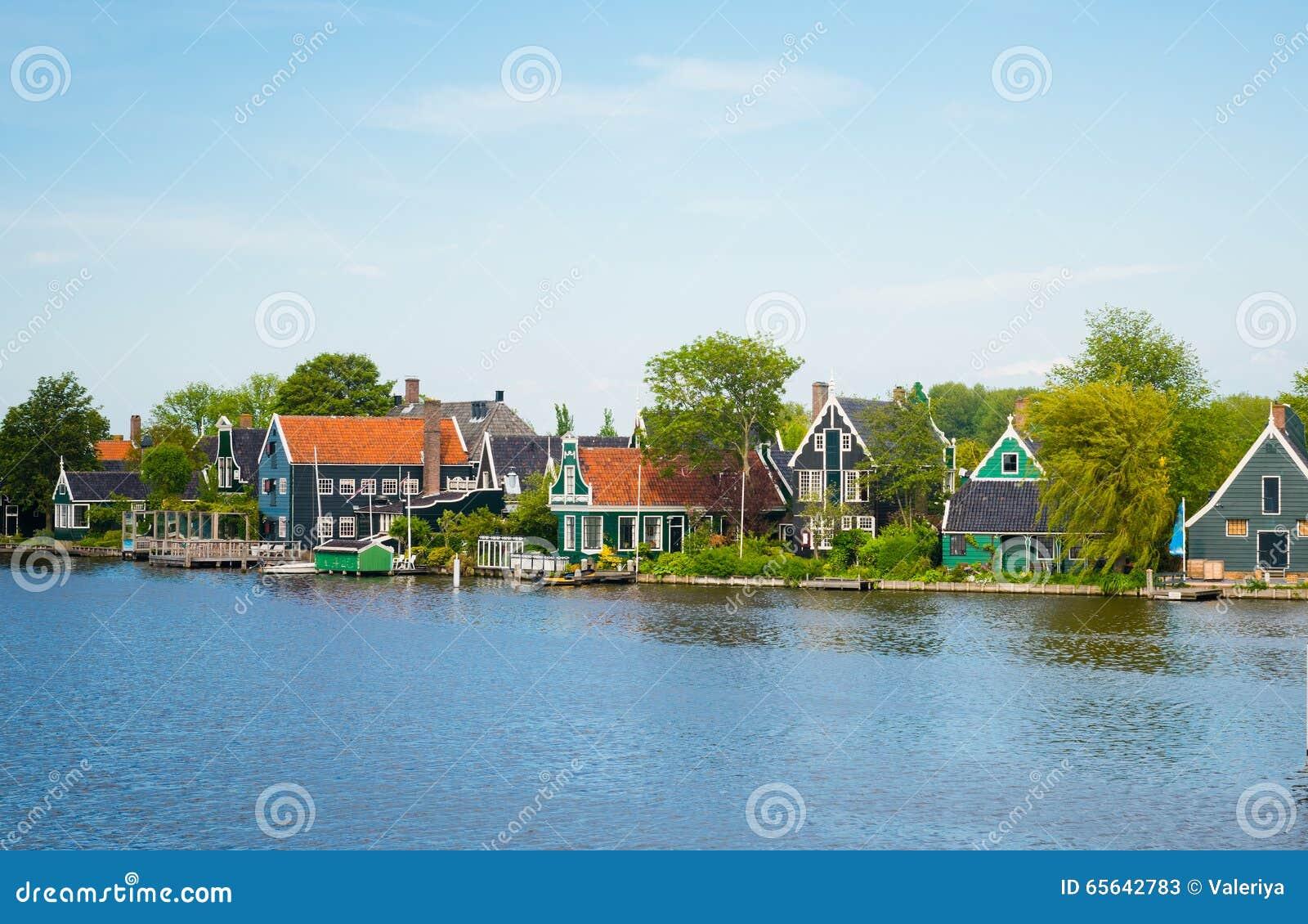 Maison traditionnelle au village historique de Zaanse Schans