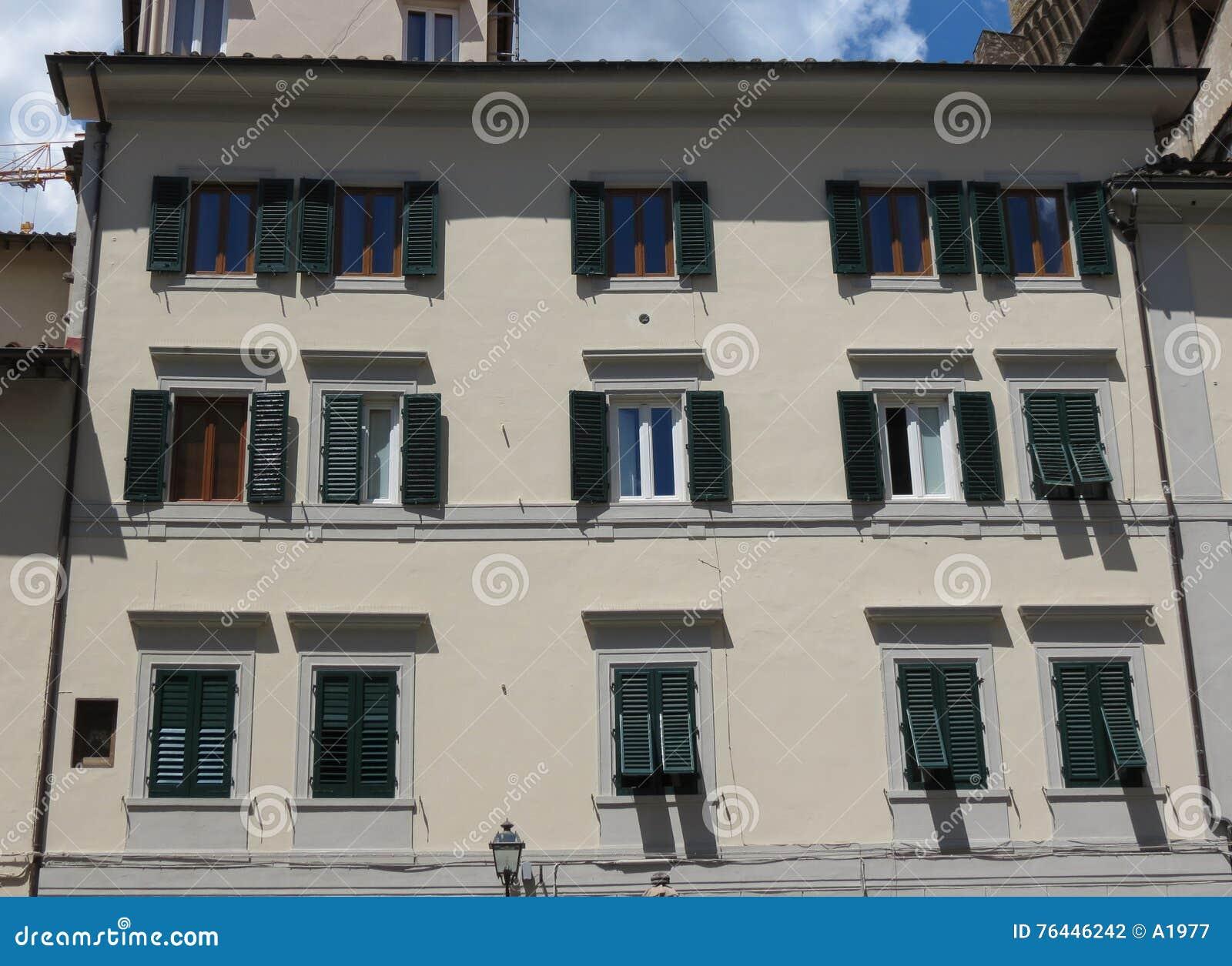 Maison traditionnelle en italie florence photo stock Maison florene
