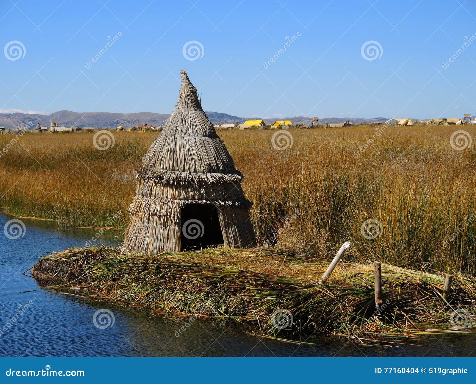 Maison traditionnelle, Puno, Pérou