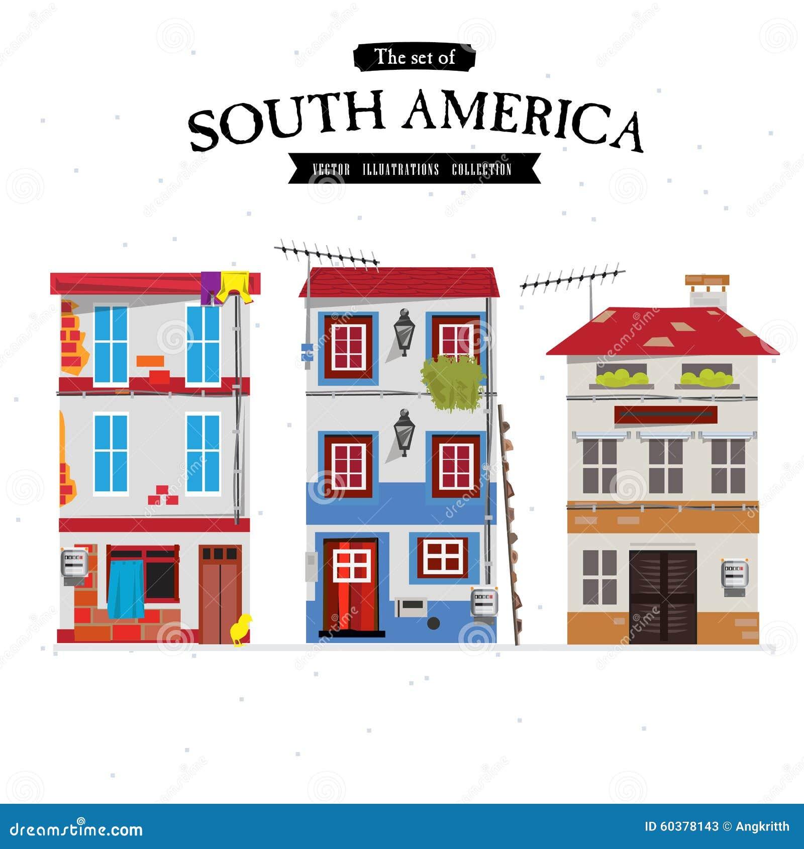 Maison urbaine de l 39 am rique du sud maison r gl e for Maison de l amerique du sud