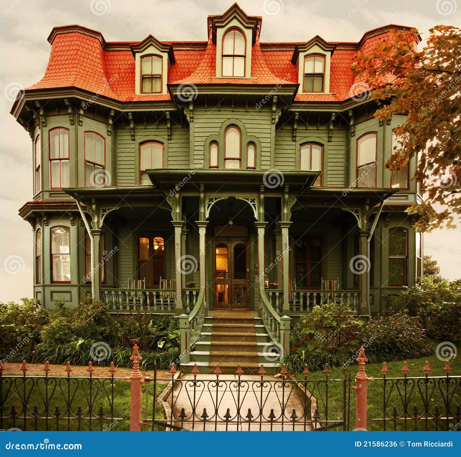 Maison victorienne image libre de droits image 21586236 - La maison victorienne ...