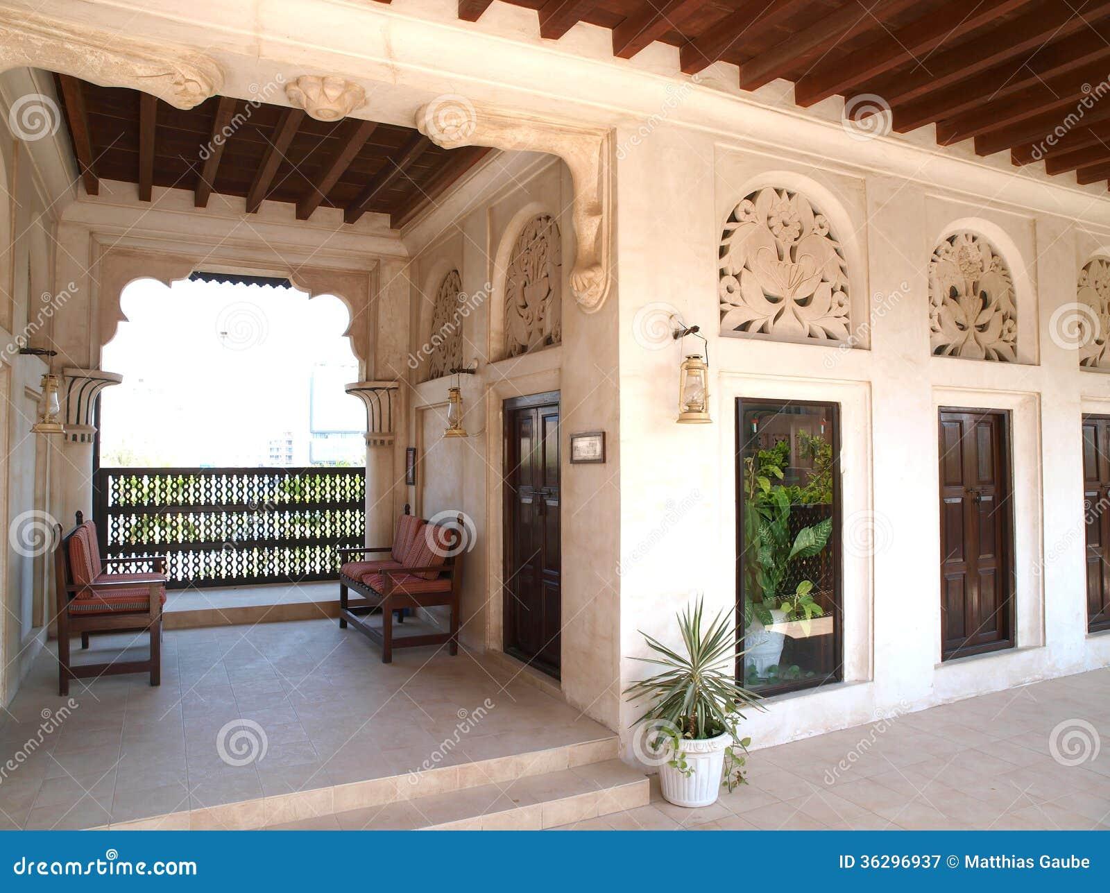 Maisons arabes traditionnelles chez the creek 1 for Architecture maison arabe