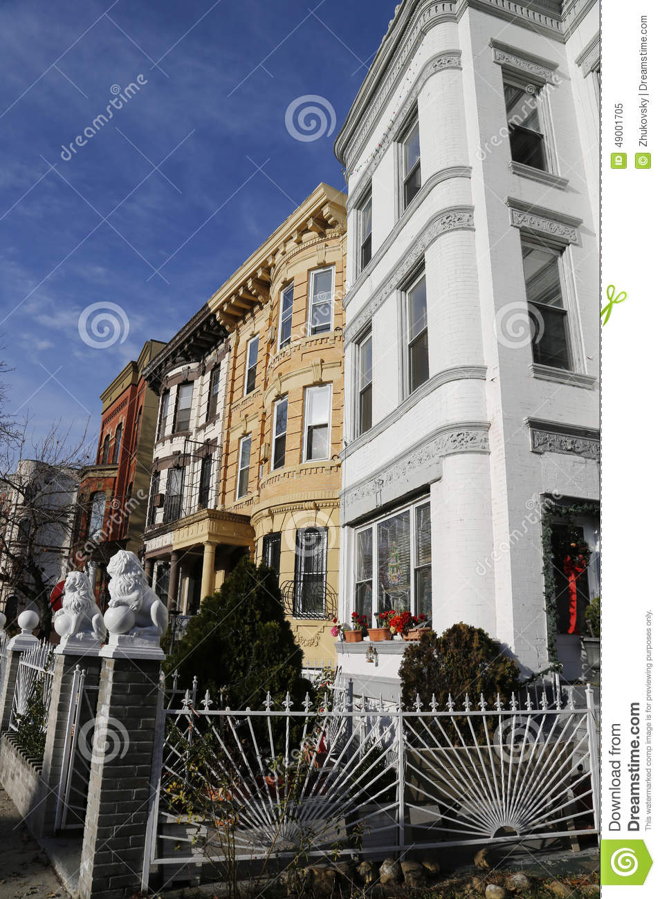Maisons de gr s de new york city en voisinage de bedford stuyvesant brookly - Achat maison new york ...