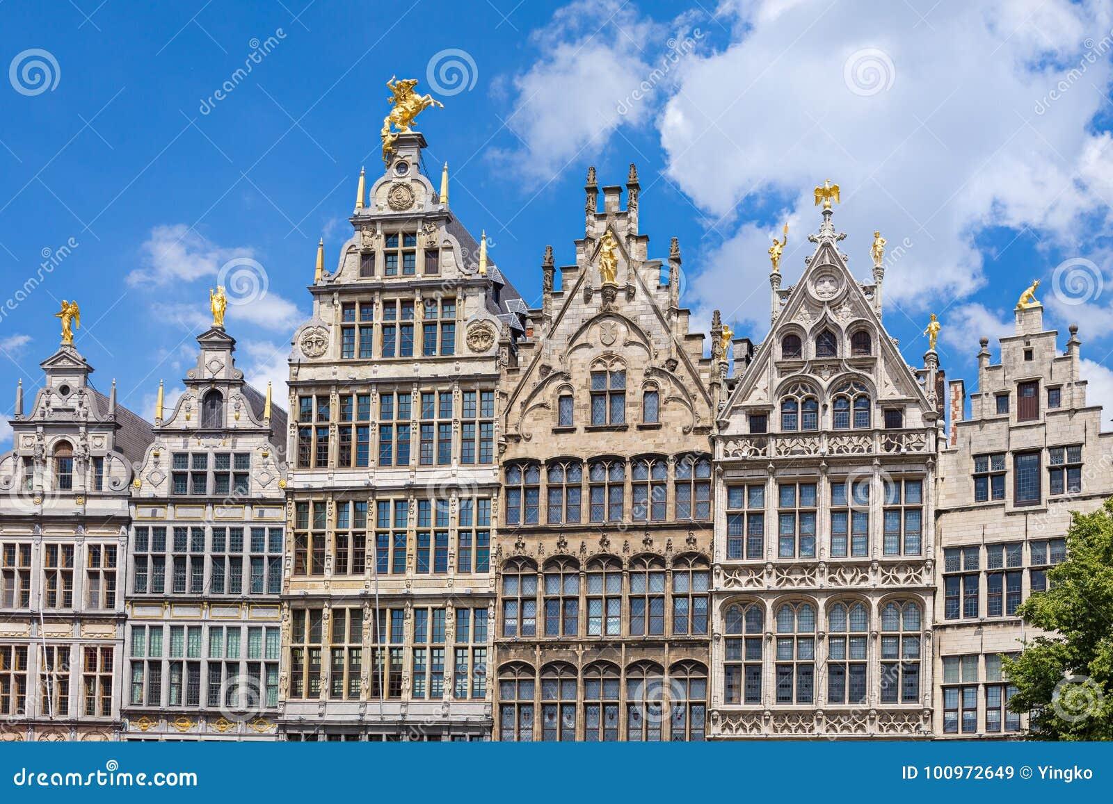 Maisons de guilde d Anvers