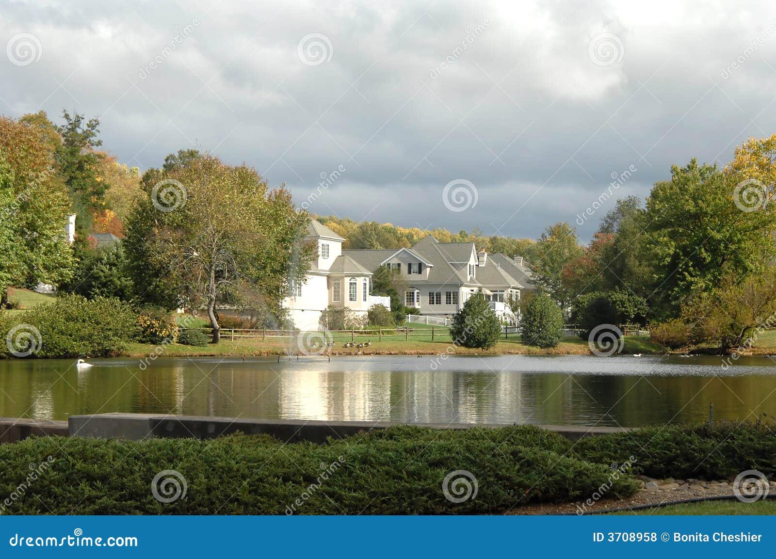 Maisons de patrimoine par Lake