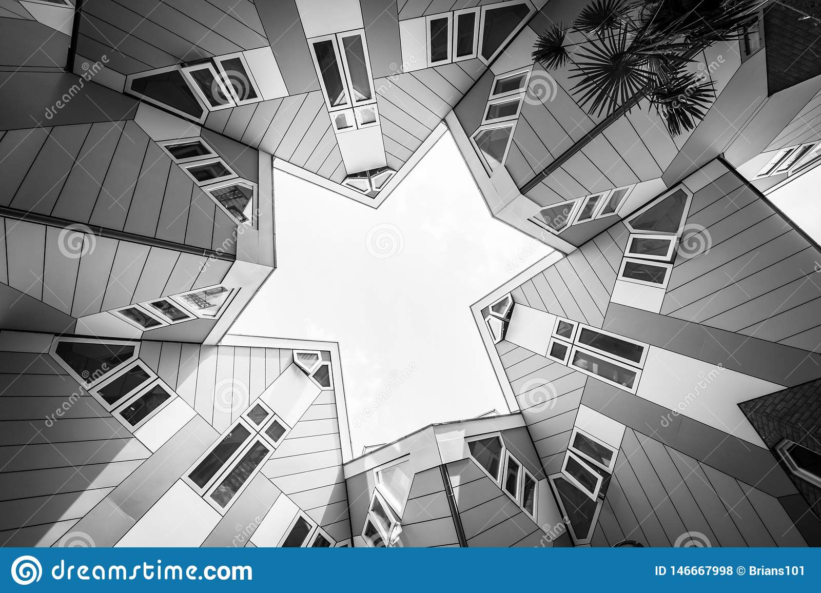 Maisons De Rapport Cubiques Modernes Dans Kubus Néerlandais ...
