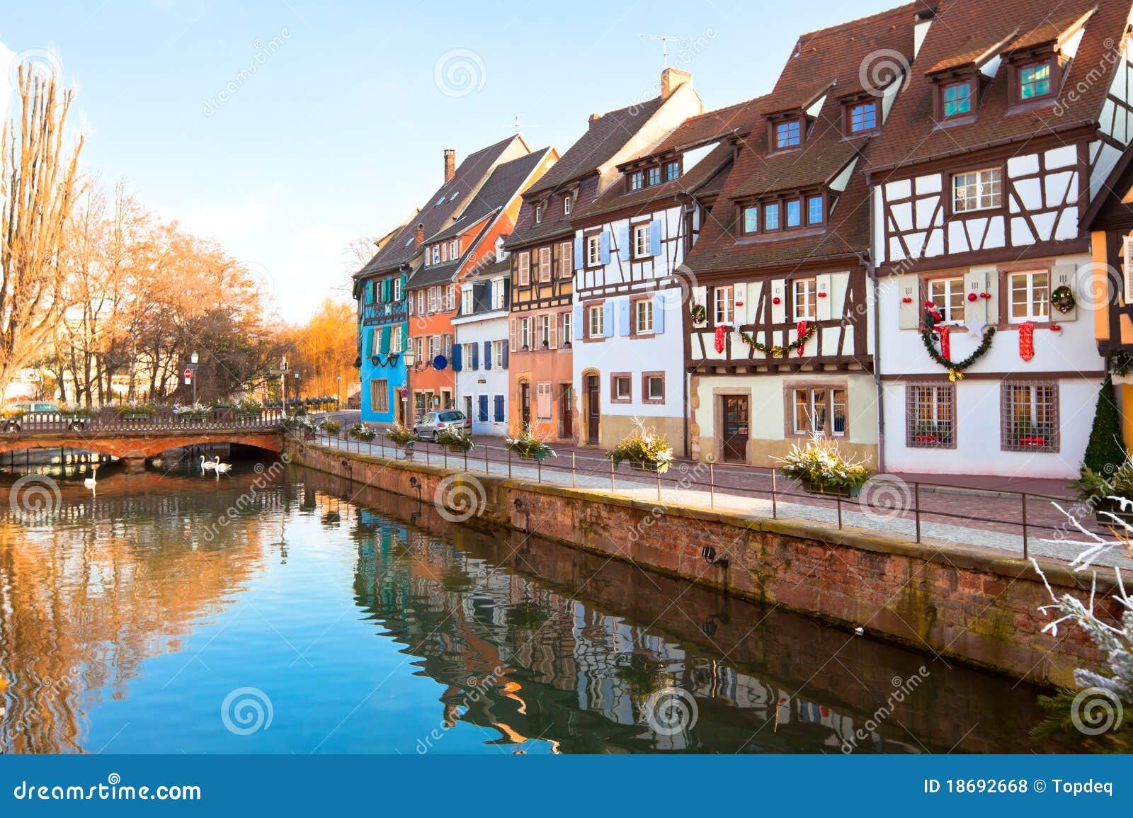Maisons médiévales à Colmar, France