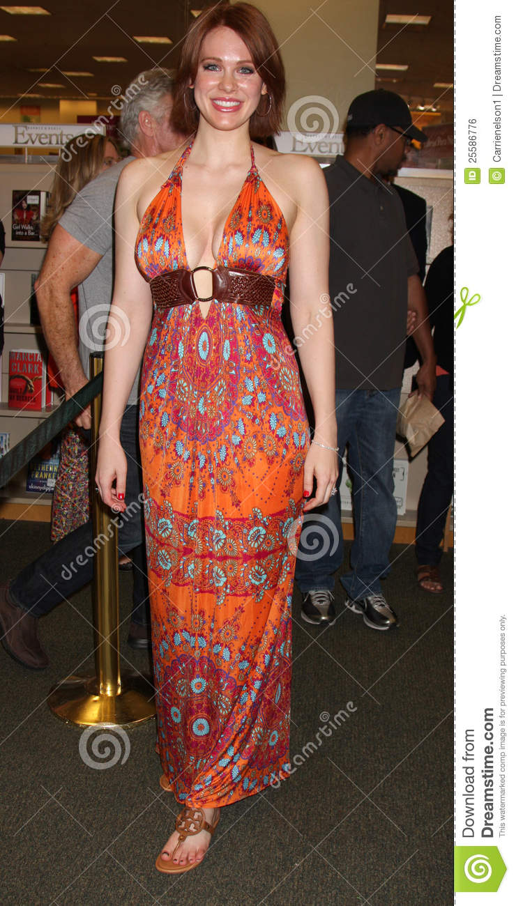 Maitland Ward At A Booksigning For Editorial Photo Image