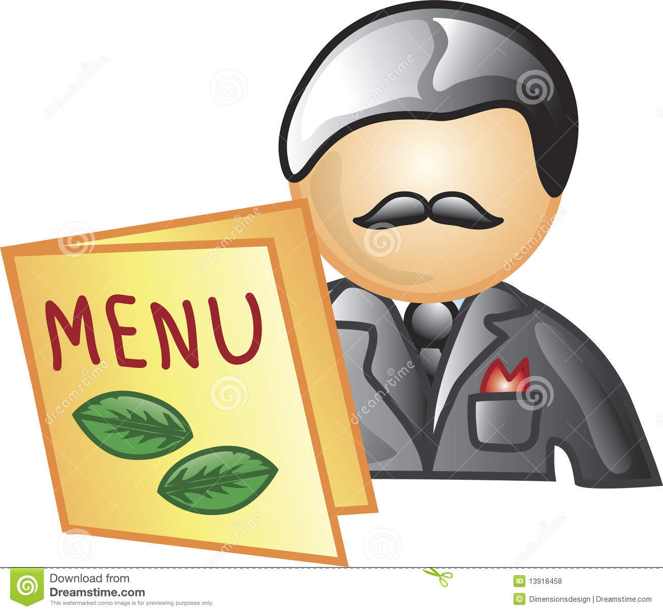Maitre cartoons illustrations vector stock images 32 for What is a maitre d