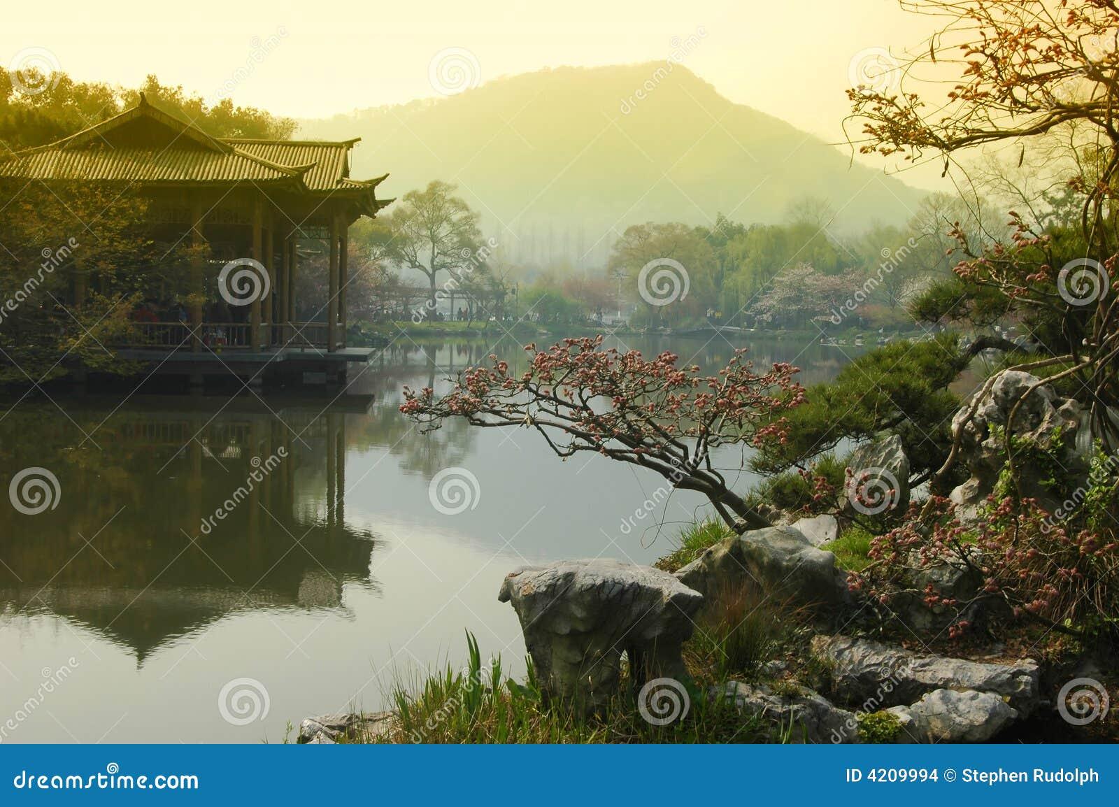 Majestätische Ansicht von Westsee China