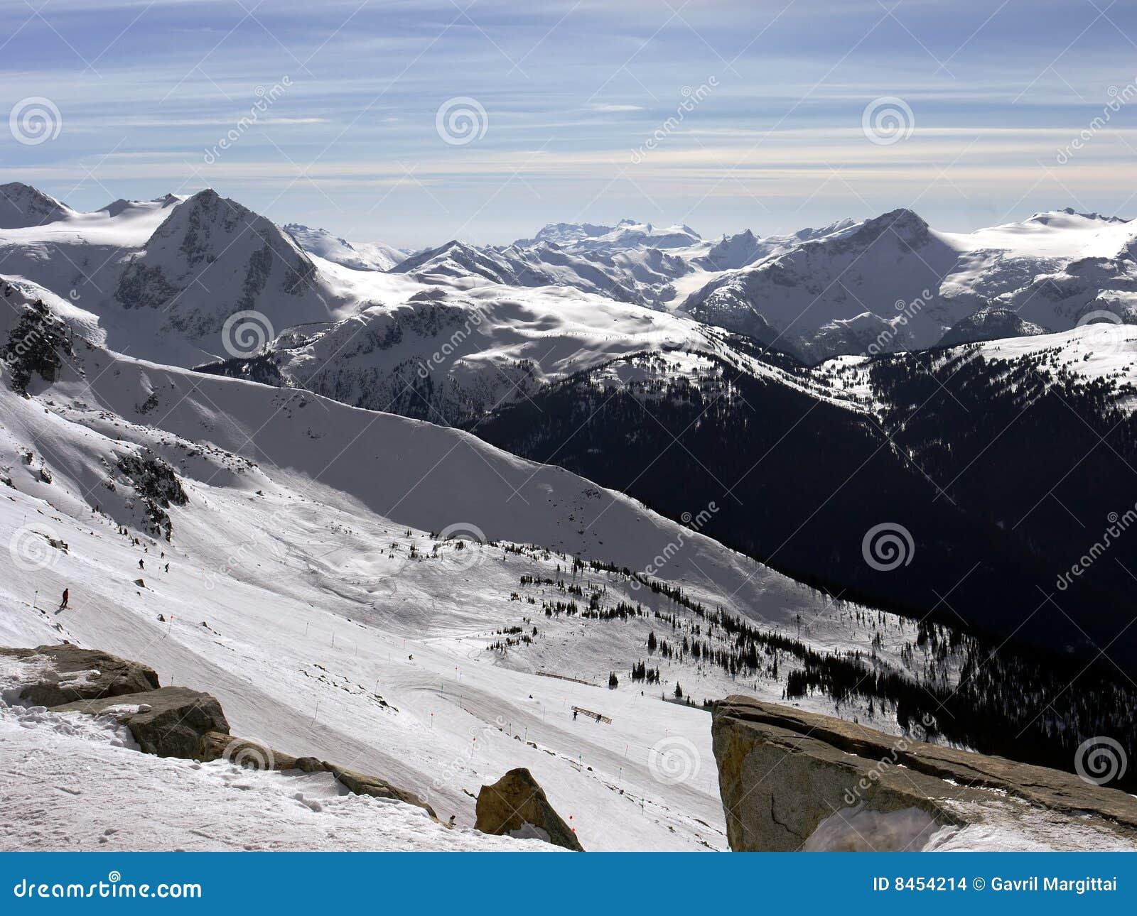 Majestätiska berg