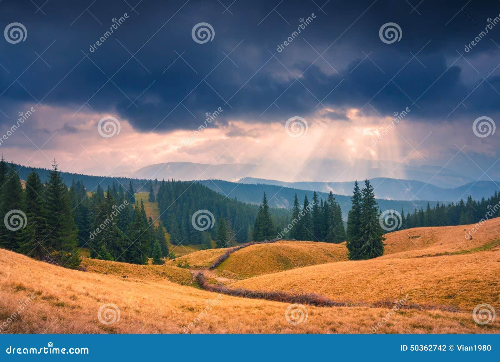 Majestätiskt Carpathian