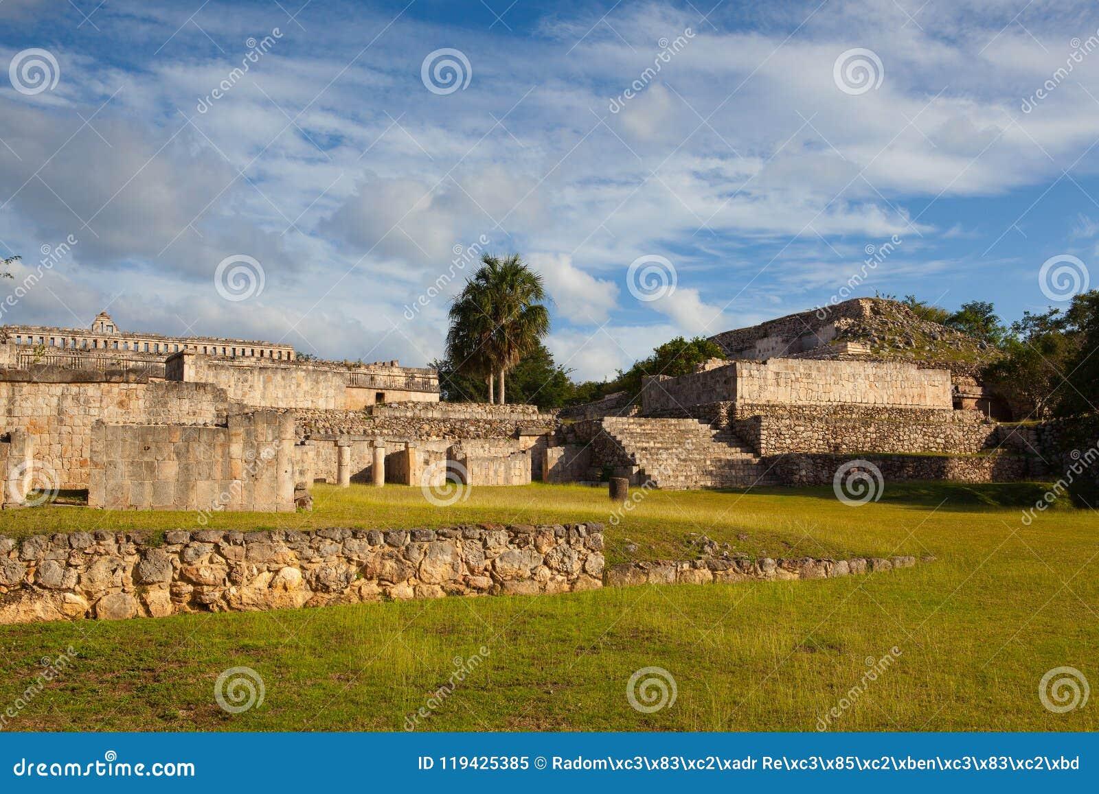 Majestatyczne Kabah ruiny, Meksyk