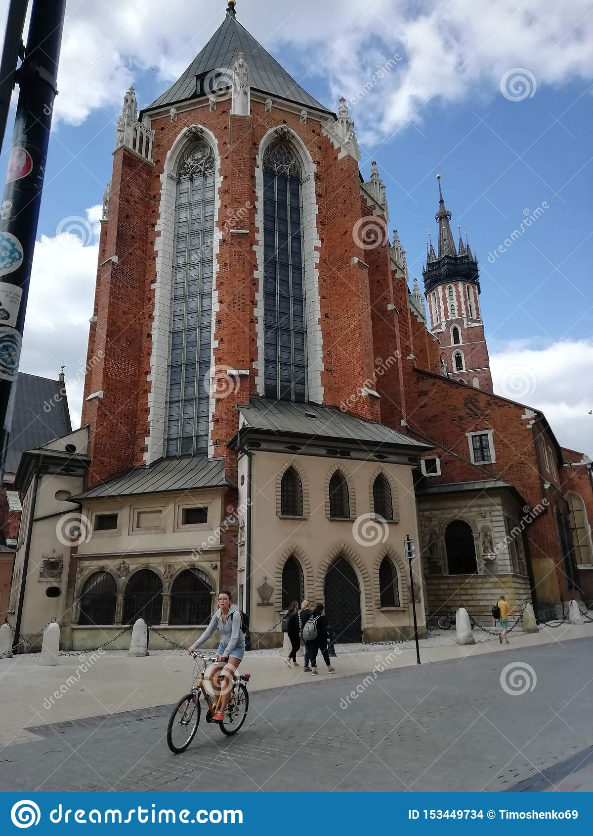 The majestic church of Krakow
