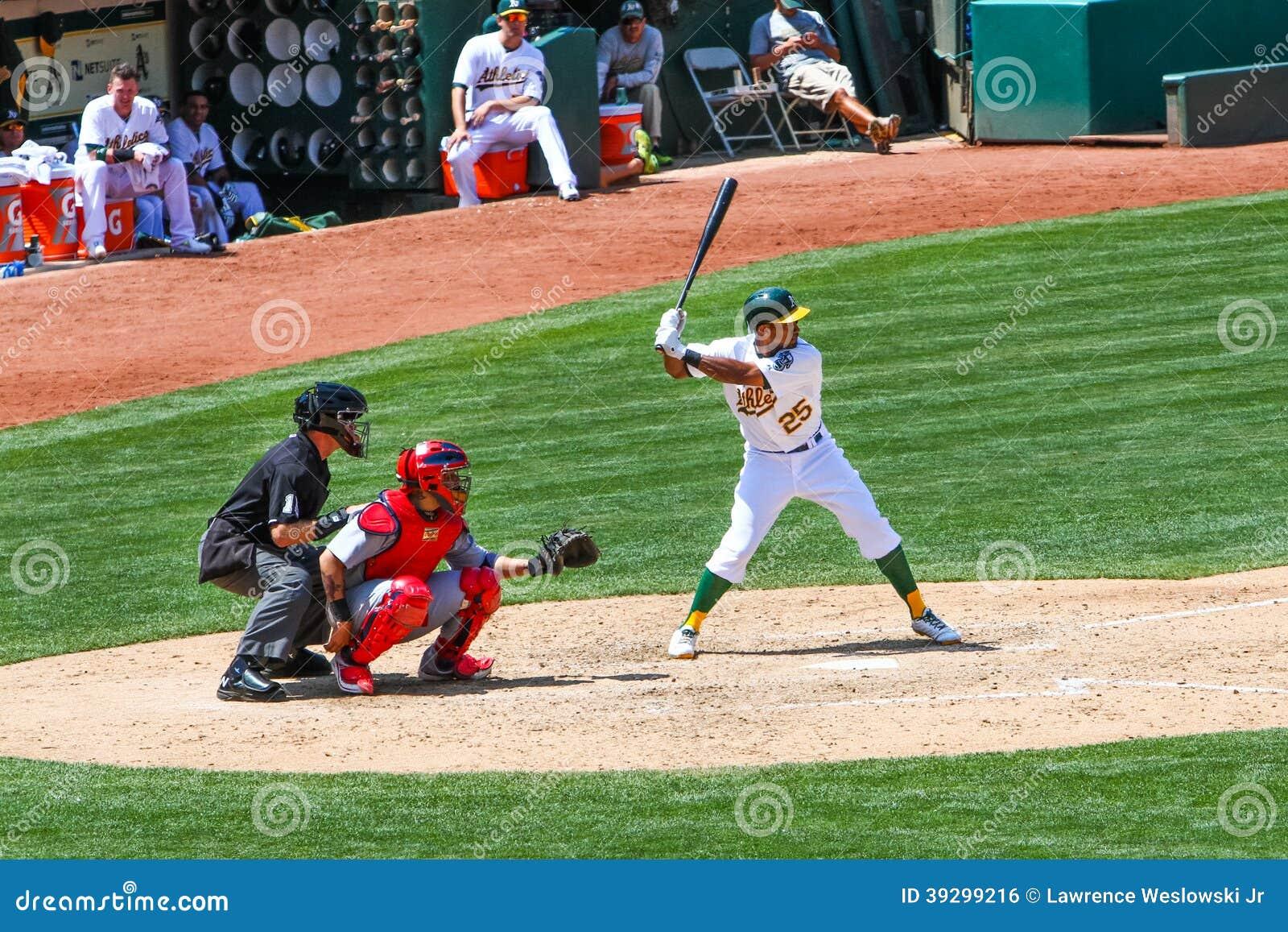 Major League Baseball Action Editorial Image ...
