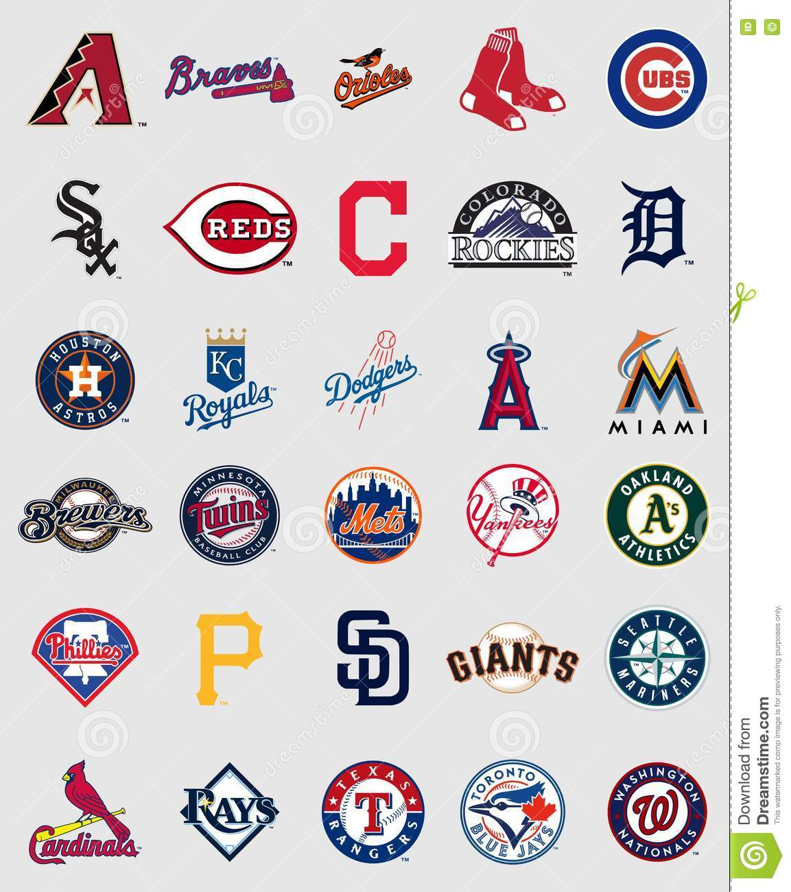 Major League Baseball-emblemen